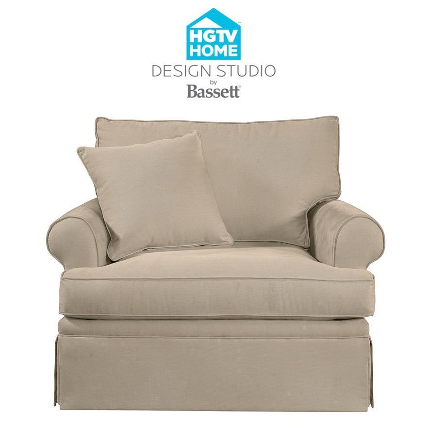 Bassett Hgtv Home Design Studio 4000 12 Customizable Chair Great American Home Store