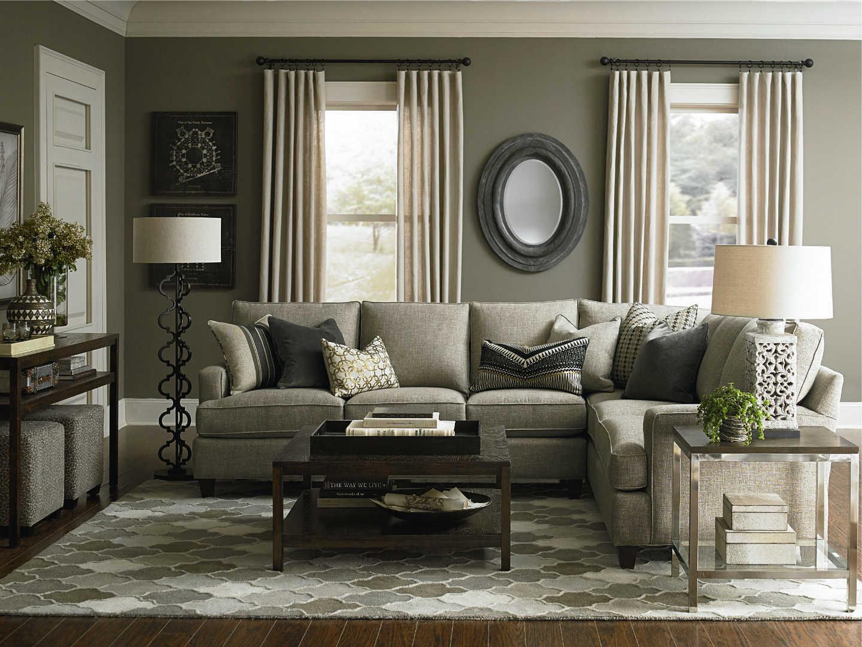 bassett hgtv home design studio 4000 customizable medium sofa great american home store sofa. Black Bedroom Furniture Sets. Home Design Ideas