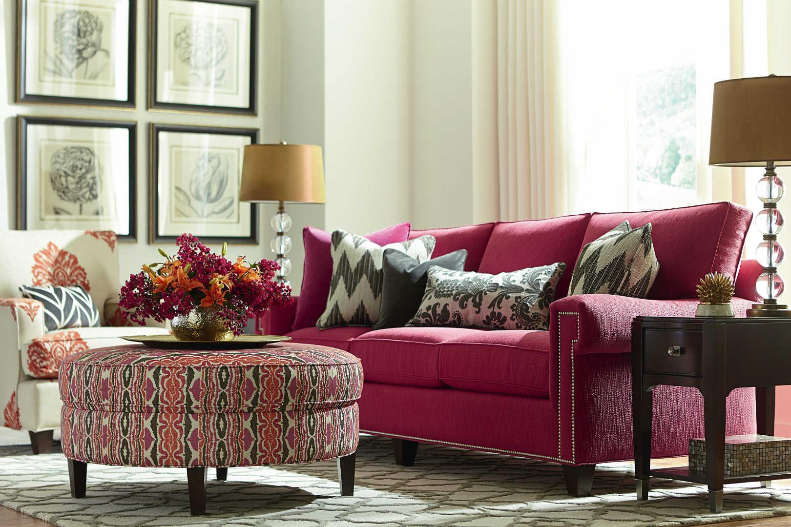 bassett hgtv home design studio 6000 customizable xl sofa. Black Bedroom Furniture Sets. Home Design Ideas