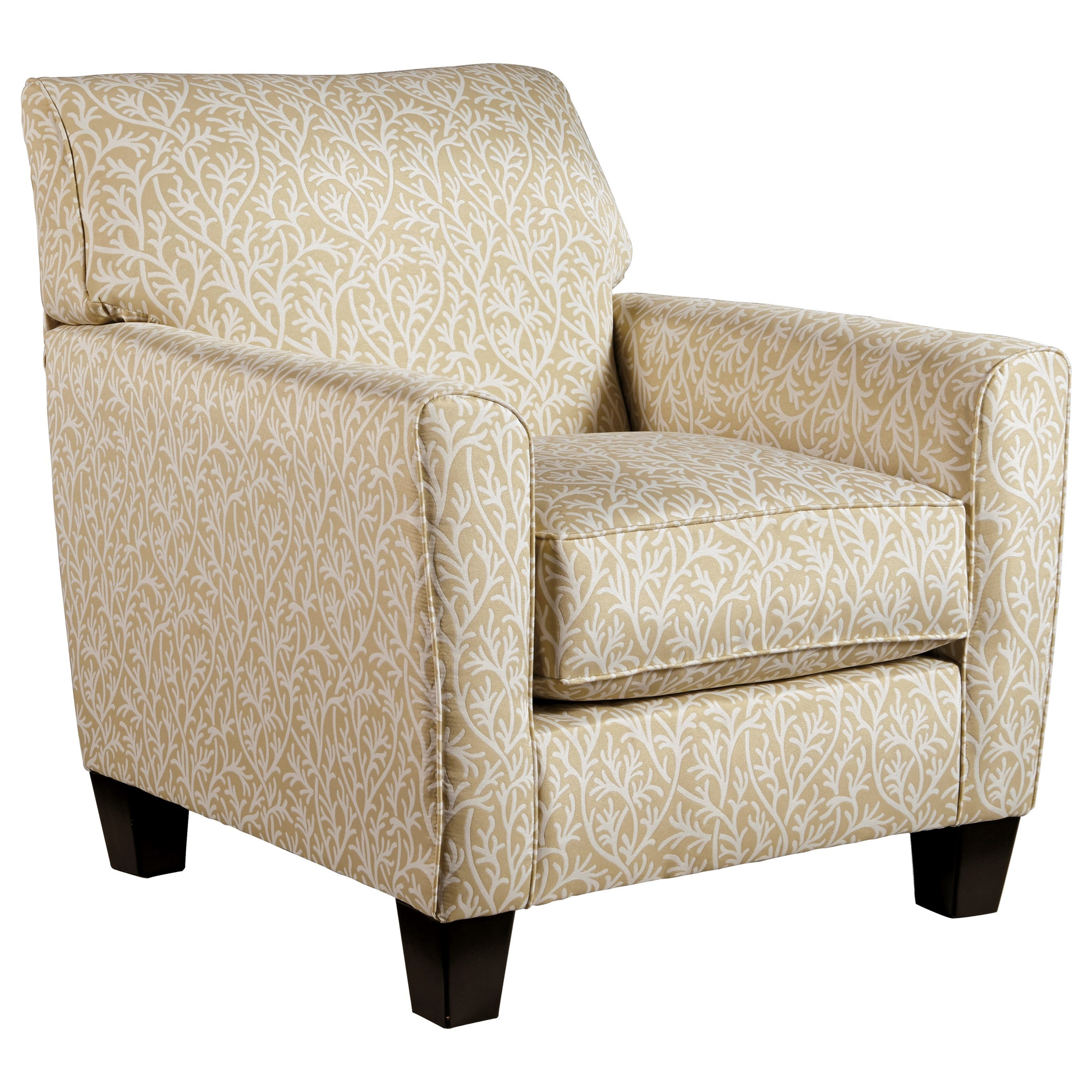 Benchcraft Ayanna Nuvella Contemporary Accent Chair In