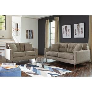Benchcraft Dahra Stationary Living Room Group Zak S