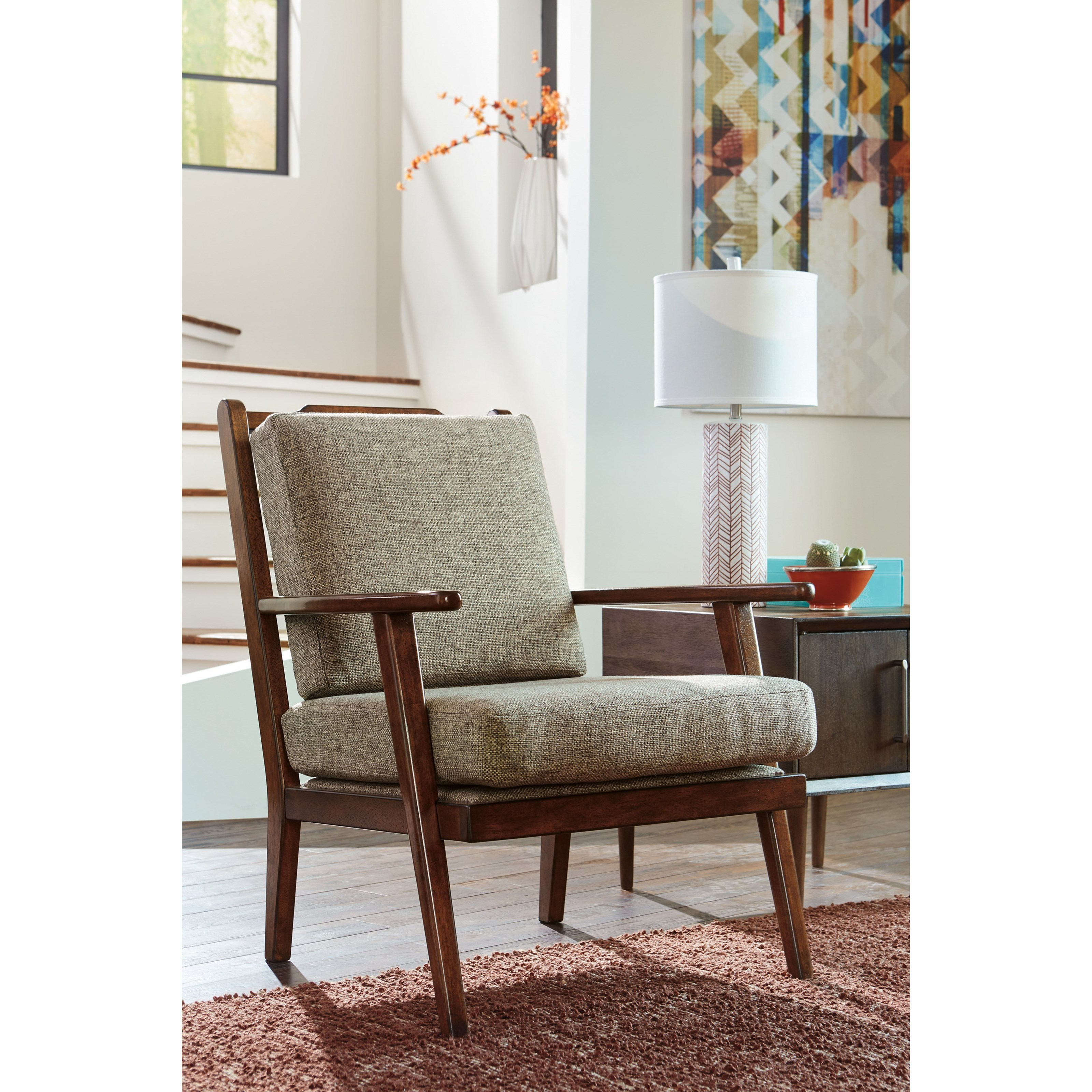 trendz roxanne danish modern style accent chair ruby. Black Bedroom Furniture Sets. Home Design Ideas
