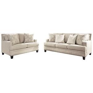 Benchcraft Claredon Living Room Group Zak S Warehouse