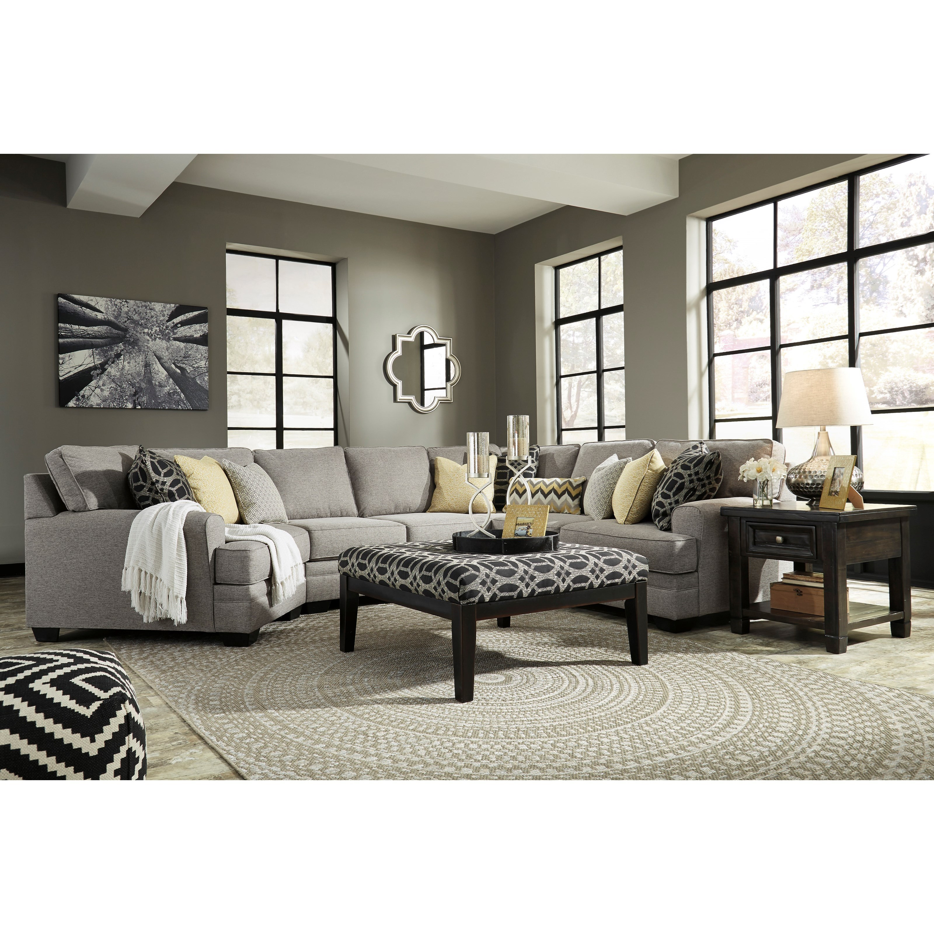 Benchcraft By Ashley Cresson Stationary Living Room Group Royal Furniture Stationary Living
