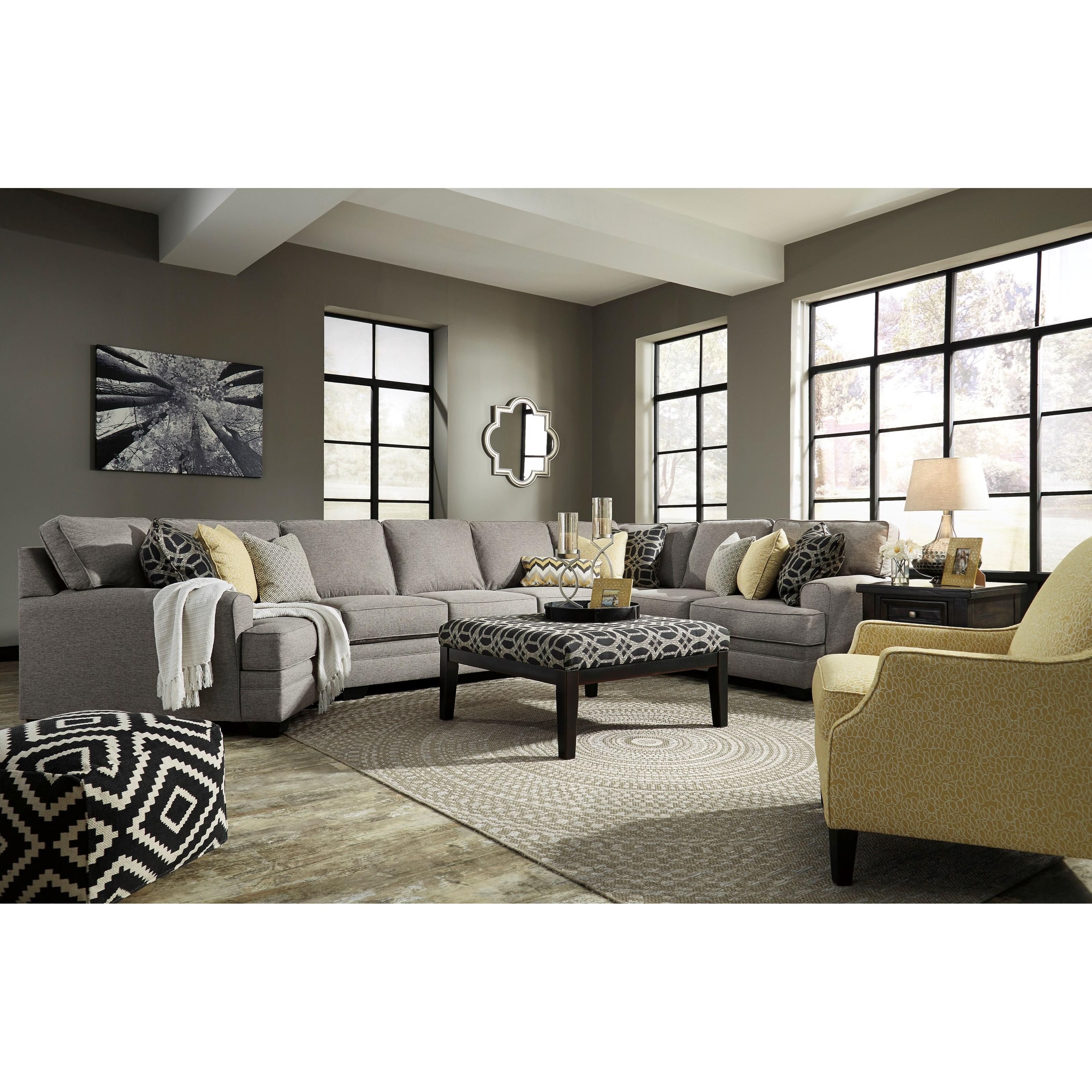 Benchcraft Cresson Stationary Living Room Group Fashion Furniture Stationary Living Room Groups