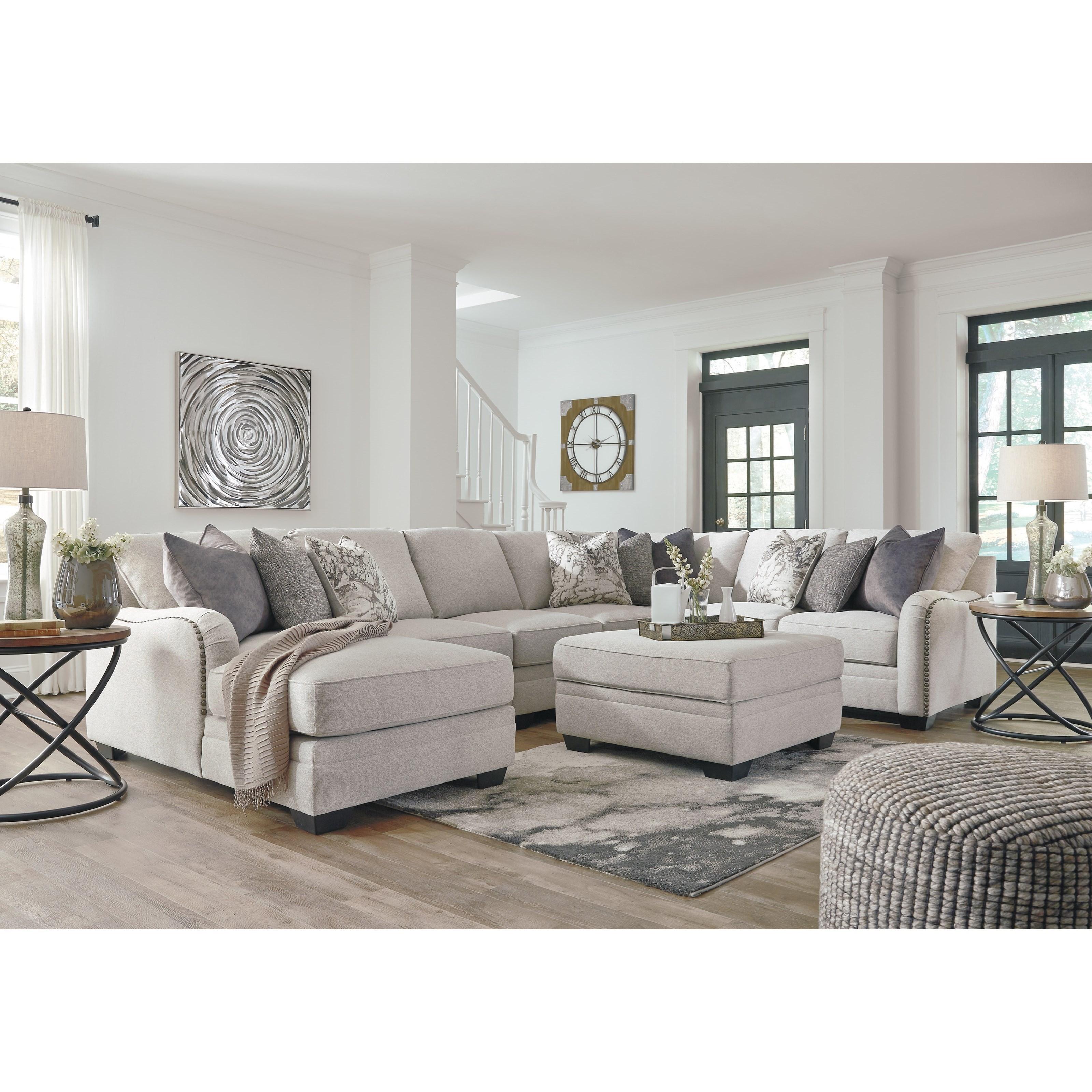 Benchcraft Dellara Stationary Living Room Group John V Schultz Furniture Stationary Living
