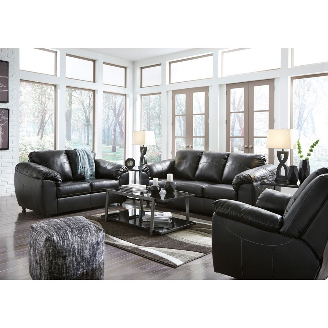 Benchcraft fezzman casual living room group value city for Living room furniture groups