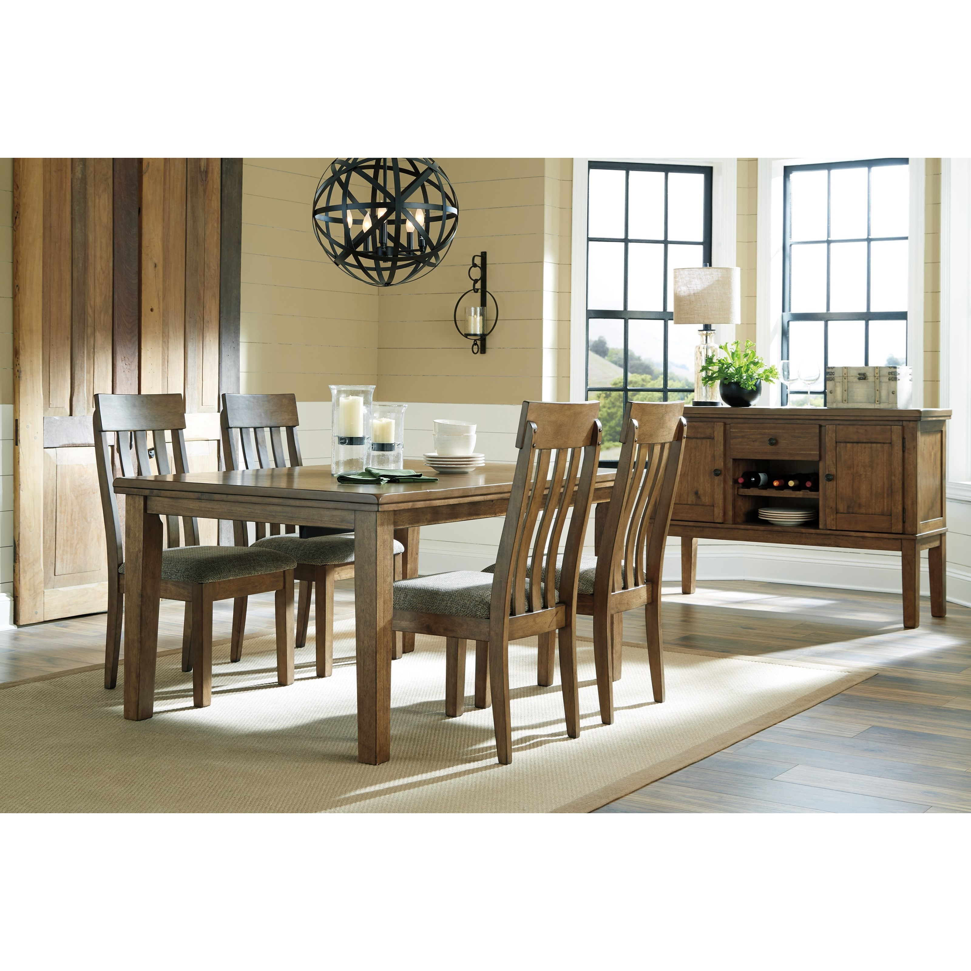 flaybern casual dining room group becker furniture world. Black Bedroom Furniture Sets. Home Design Ideas