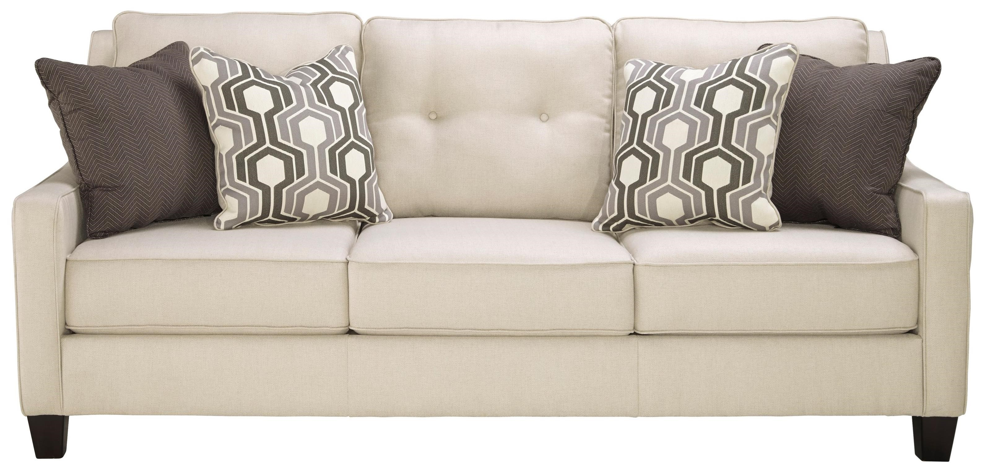 benchcraft by ashley guillerno contemporary sofa with coil. Black Bedroom Furniture Sets. Home Design Ideas