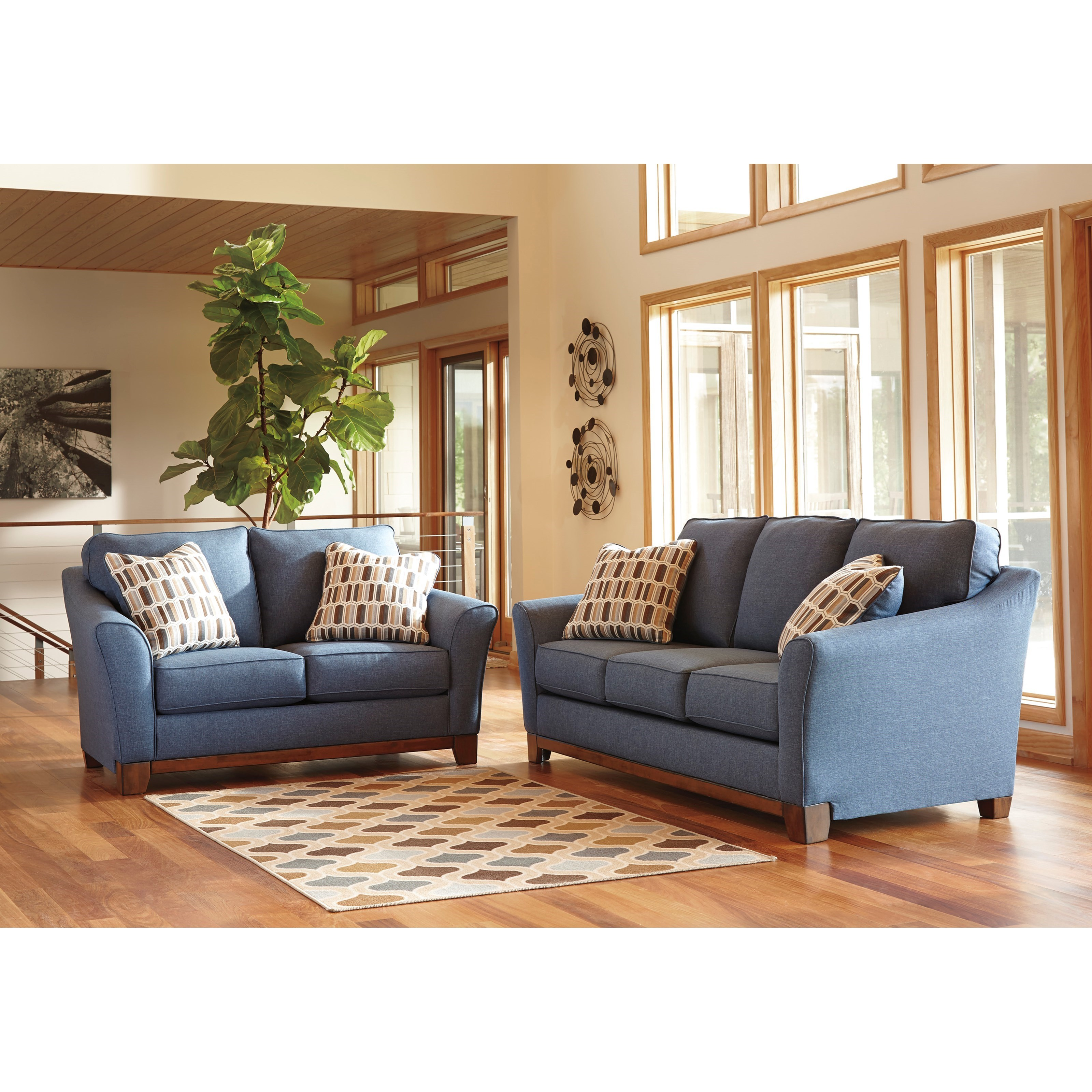 Stationary living room group item number 43807 living room group 1