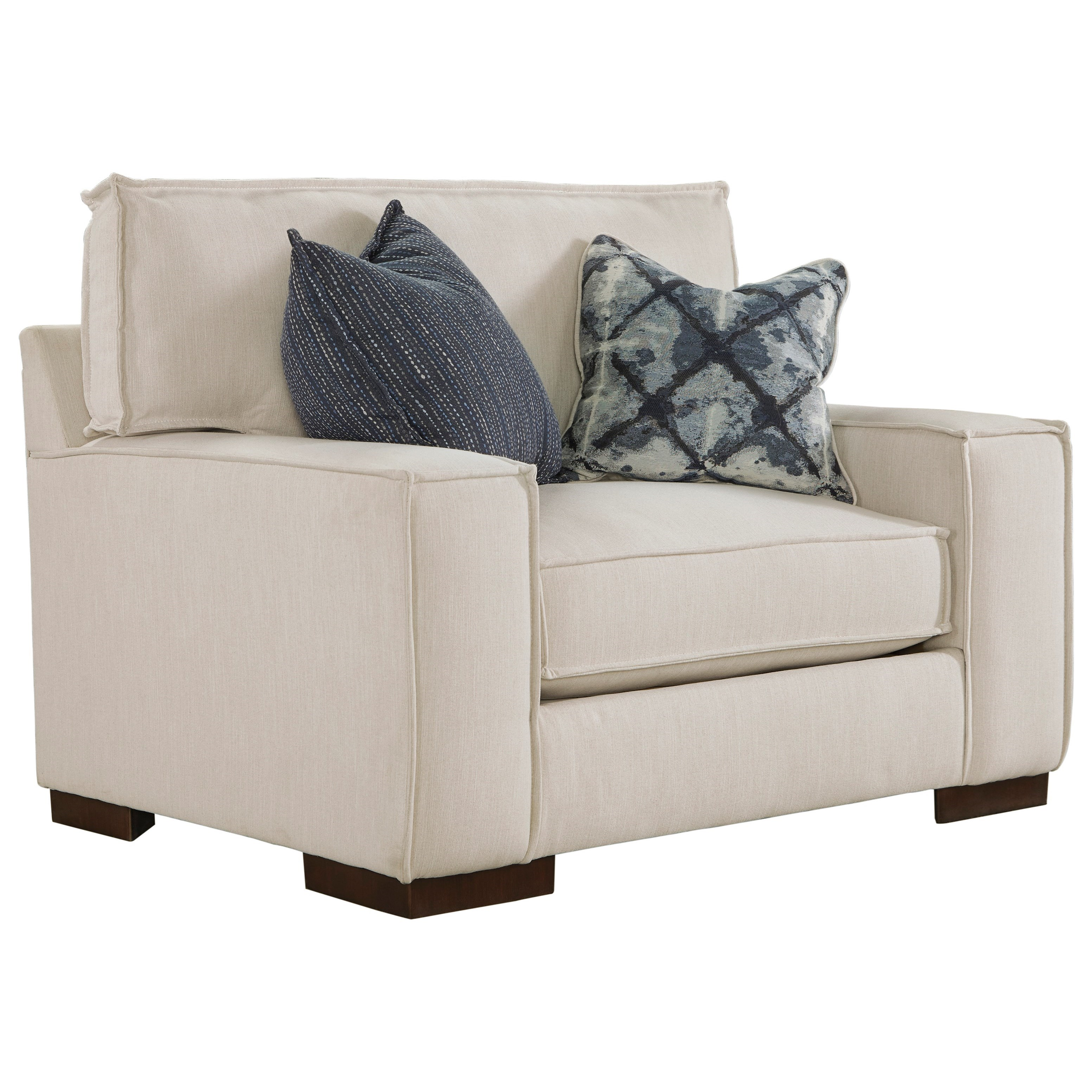 Benchcraft Kendleton Modern Chair And A Half With Reversible UltraPlush Seat