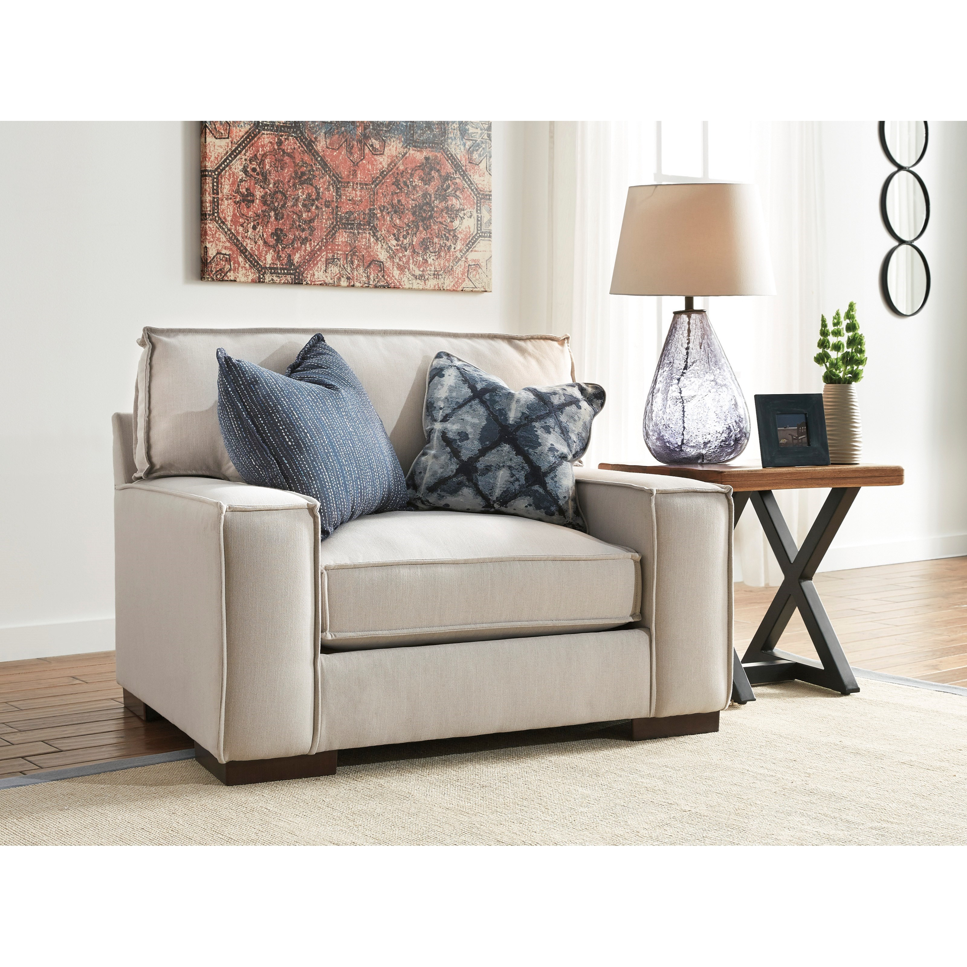 Benchcraft Kendleton Modern Chair And A Half With