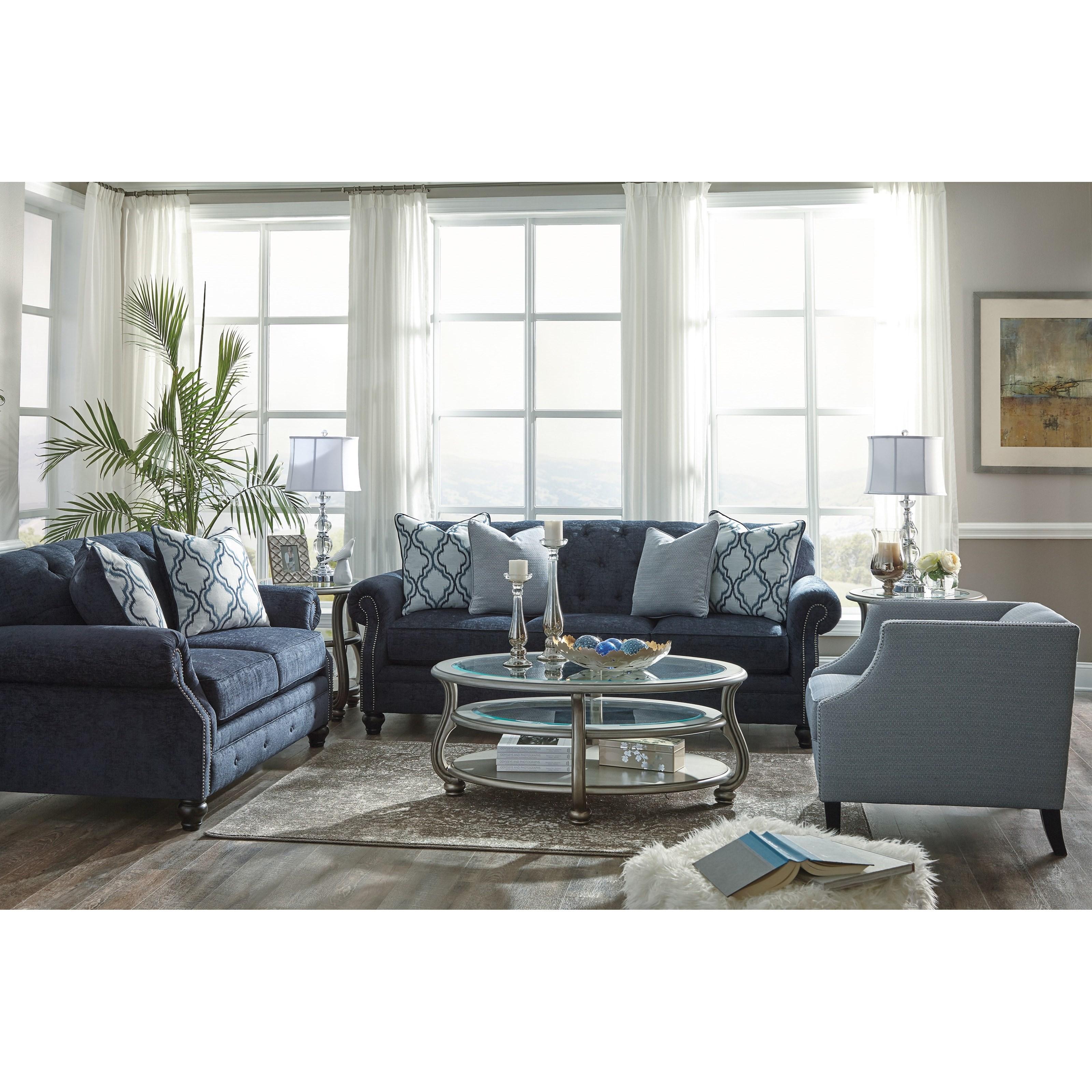 Benchcraft Lavernia Stationary Living Room Group Zak 39 S Fine Furniture Stationary Living Room