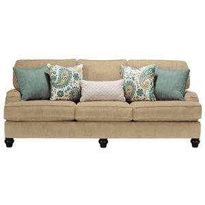 Ashley Furniture Hariston - Shitake Sofa with English Arms ...