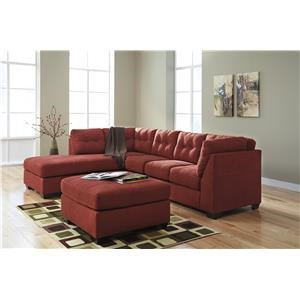 Benchcraft Maier Sienna 4520267 16 25 2 Pc Sectional And