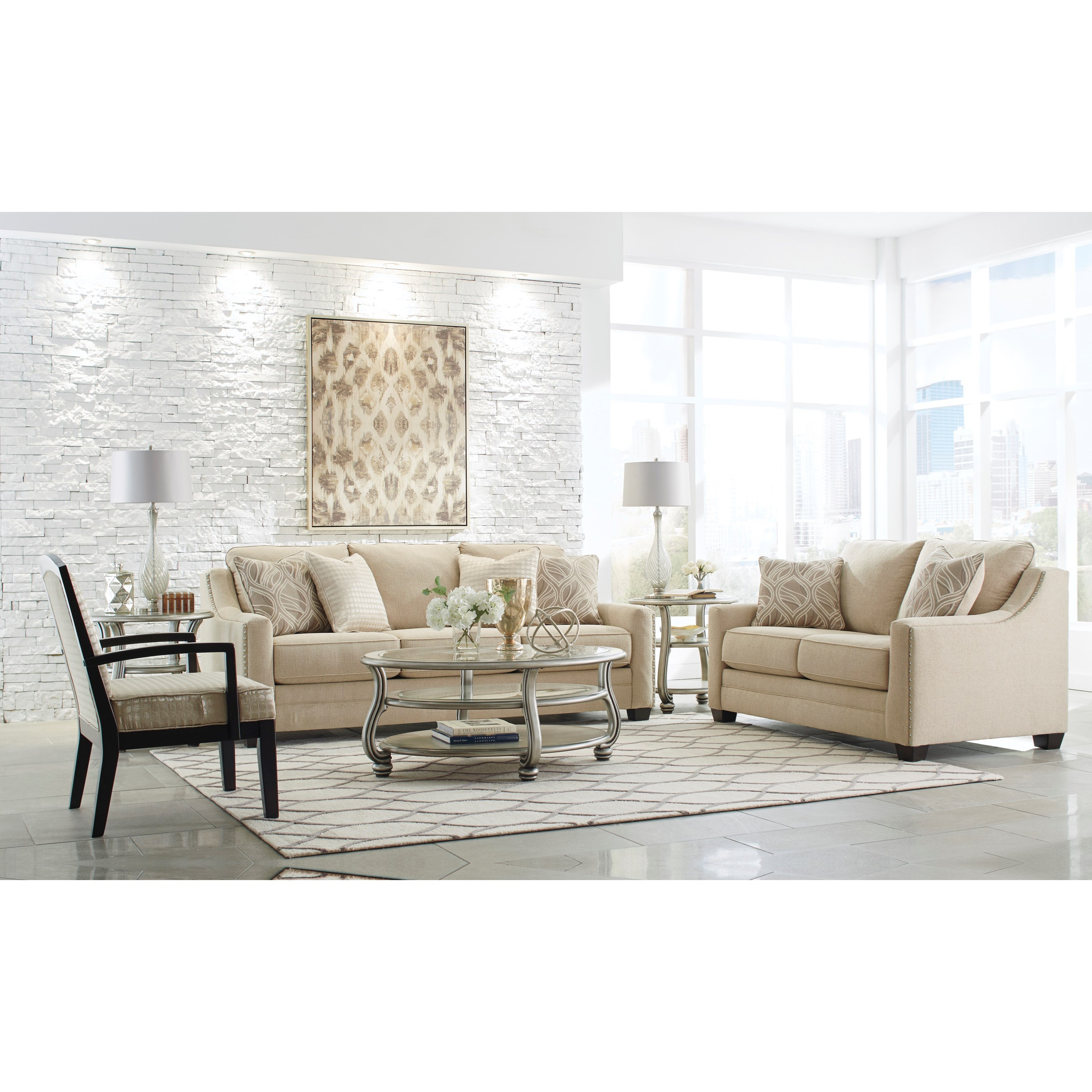 Benchcraft Mauricio Stationary Living Room Group Value