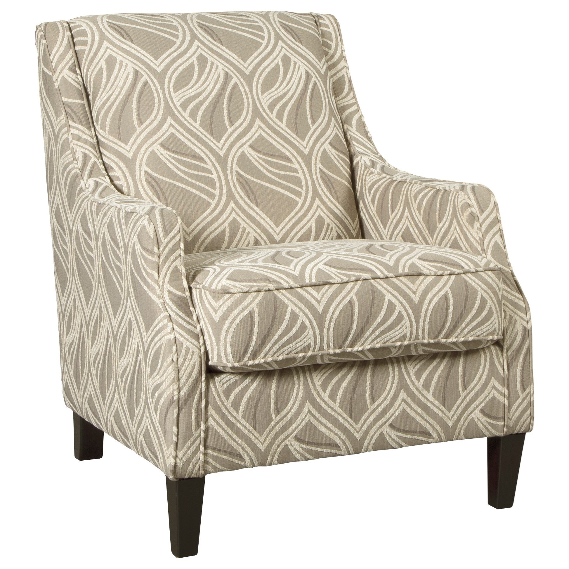 Benchcraft Mauricio Contemporary Accent Chair With Track