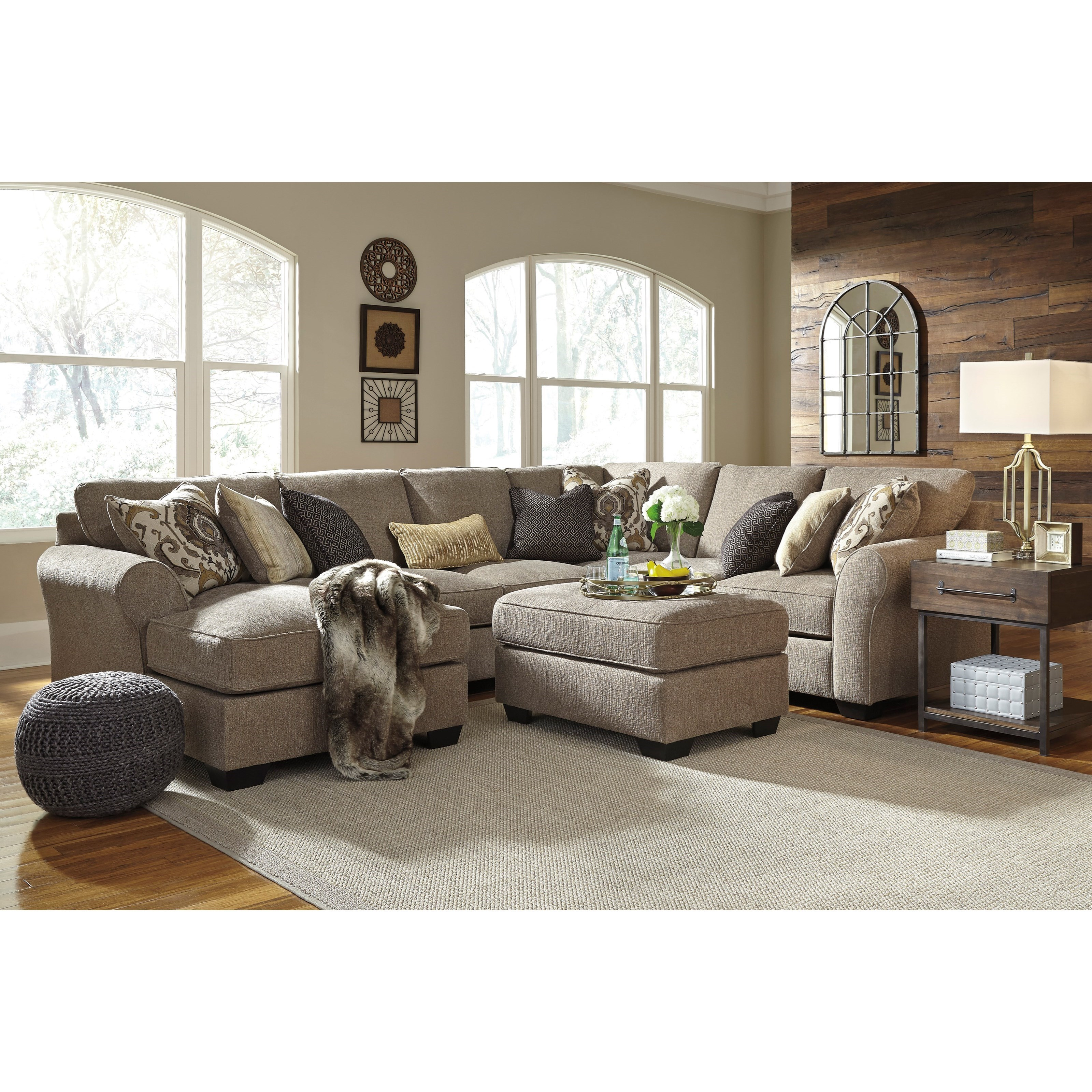 Stationary living room group miskelly furniture upholstery group