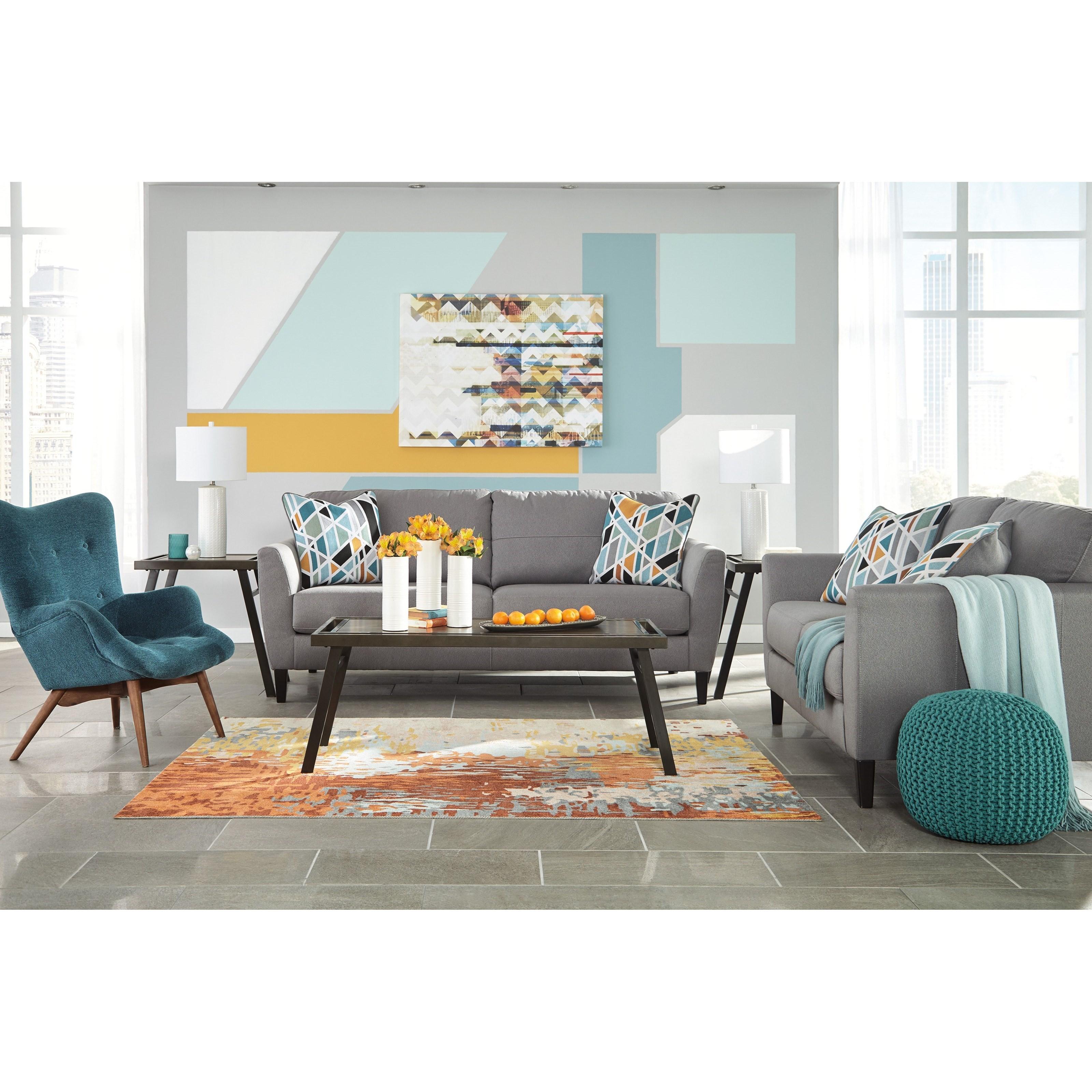 Benchcraft Pelsor Stationary Living Room Group Dunk