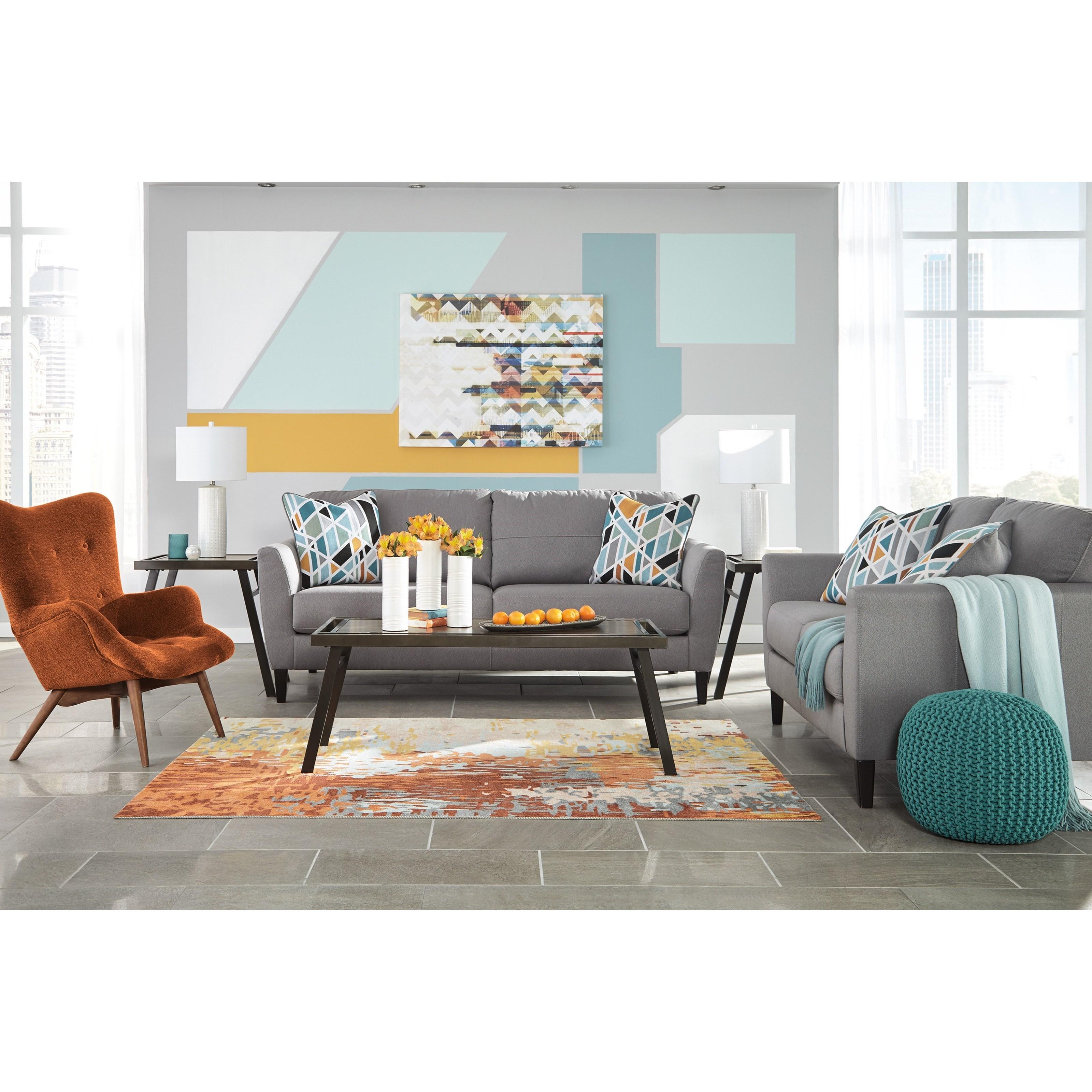 Benchcraft Pelsor Stationary Living Room Group Del Sol Furniture Stationa