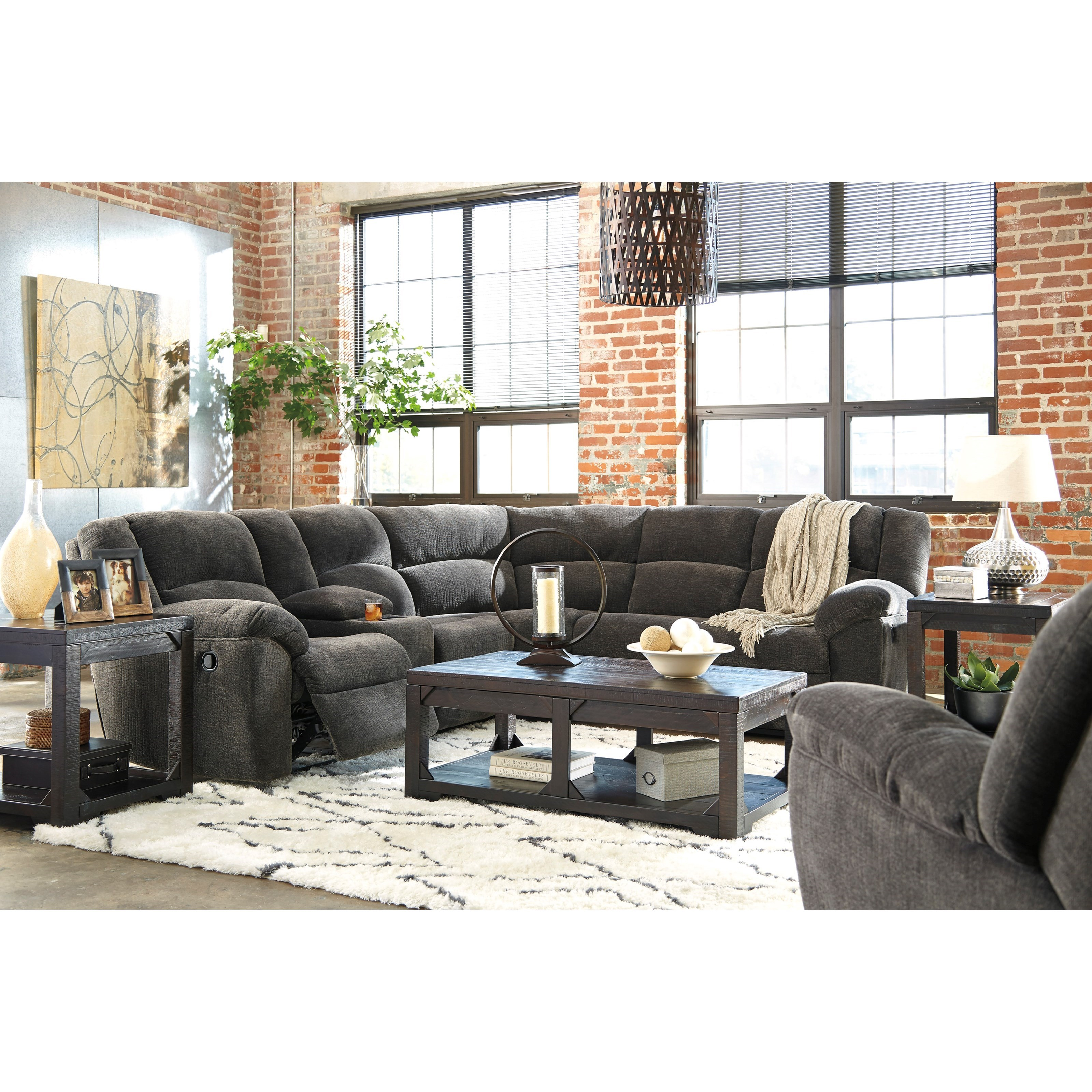 Benchcraft Timpson Reclining Living Room Group Value