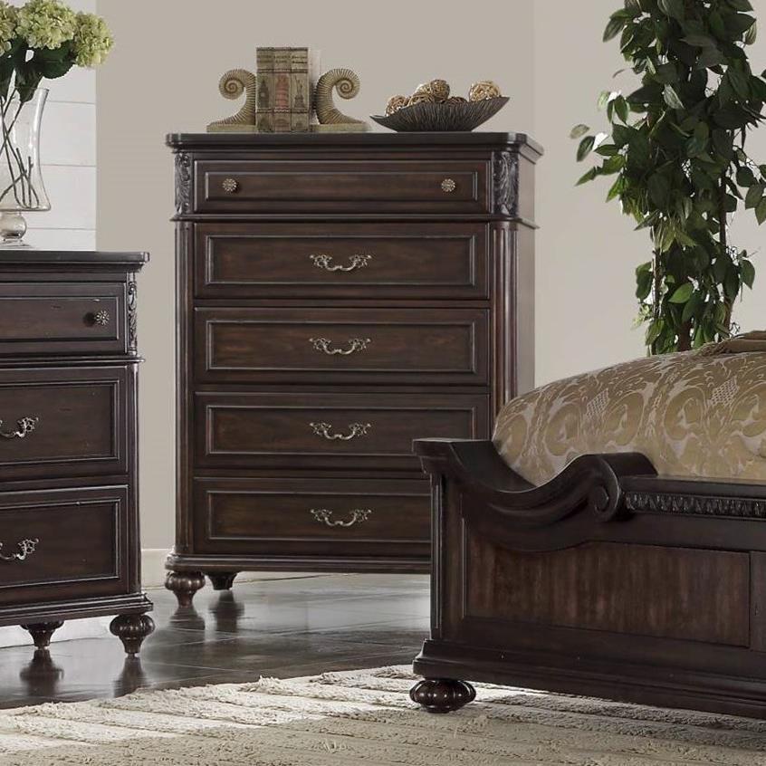 Bernards nottingham 1610 150 traditional chest in dark for Furniture nottingham