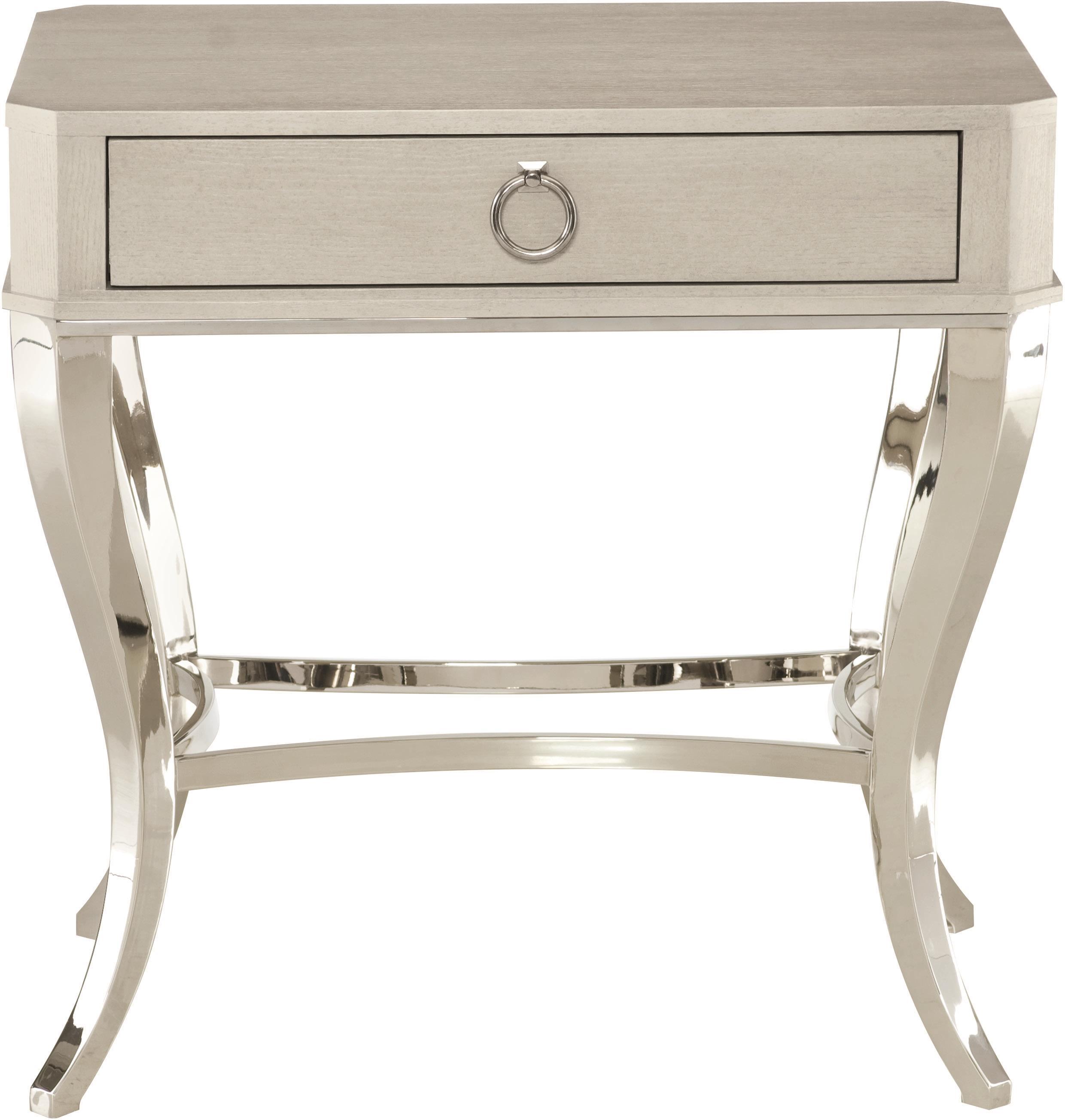 Bernhardt Criteria 363 217g Nightstand With Cabriole Legs Baer 39 S Furniture Night Stands
