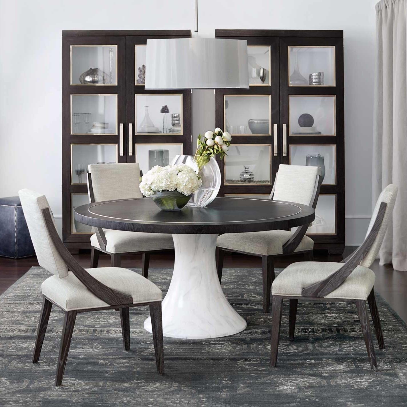 bernhardt decorage casual dining room group baer 39 s. Black Bedroom Furniture Sets. Home Design Ideas
