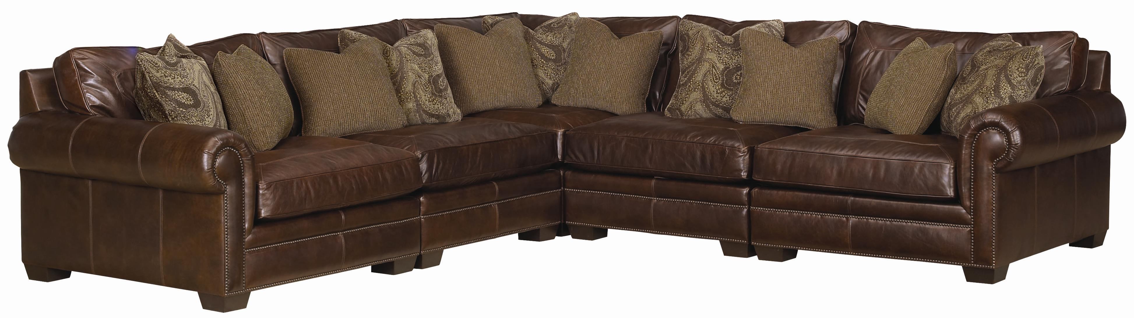 Bernhardt grandview 5 piece traditional sectional sofa for Bernhardt furniture sectional sofa