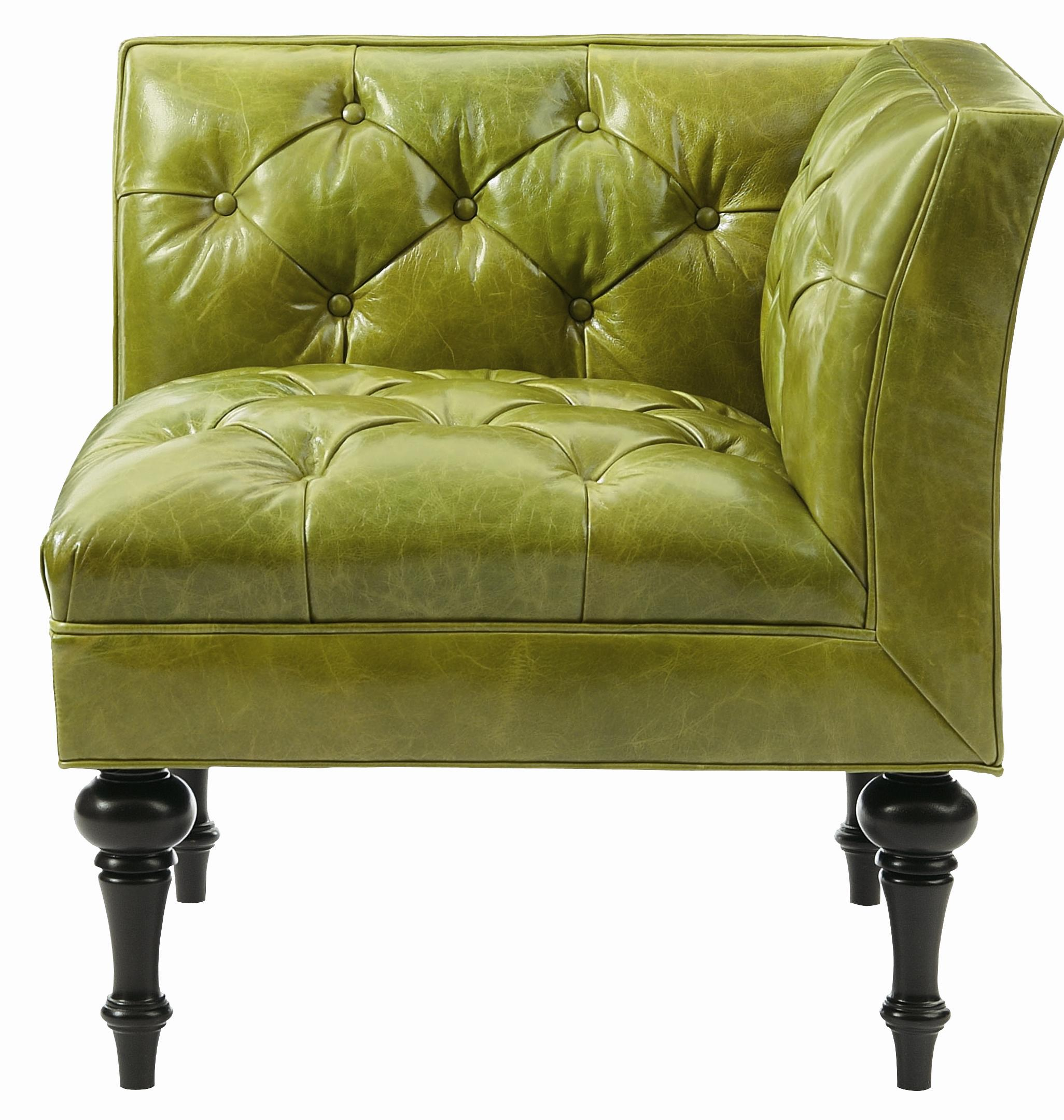 Bernhardt interiors chairs n1832l salon corner chair with for Colored salon chairs