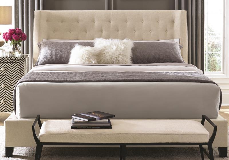 Bernhardt Maxime Queen Bed Morris Home Upholstered Beds