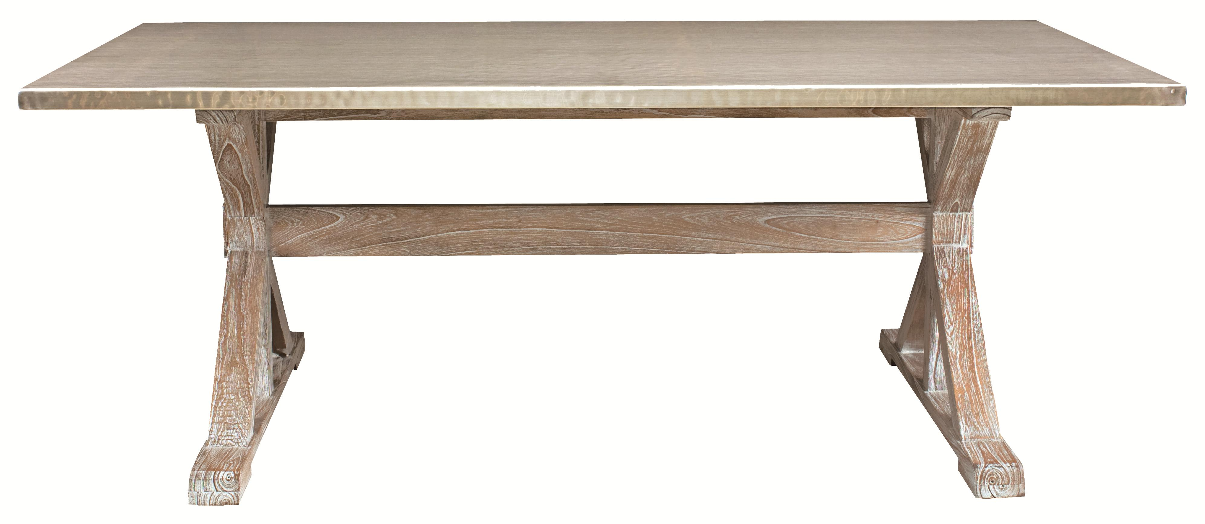 Bernhardt quentin modern dining table with antique look for Looking for dining table