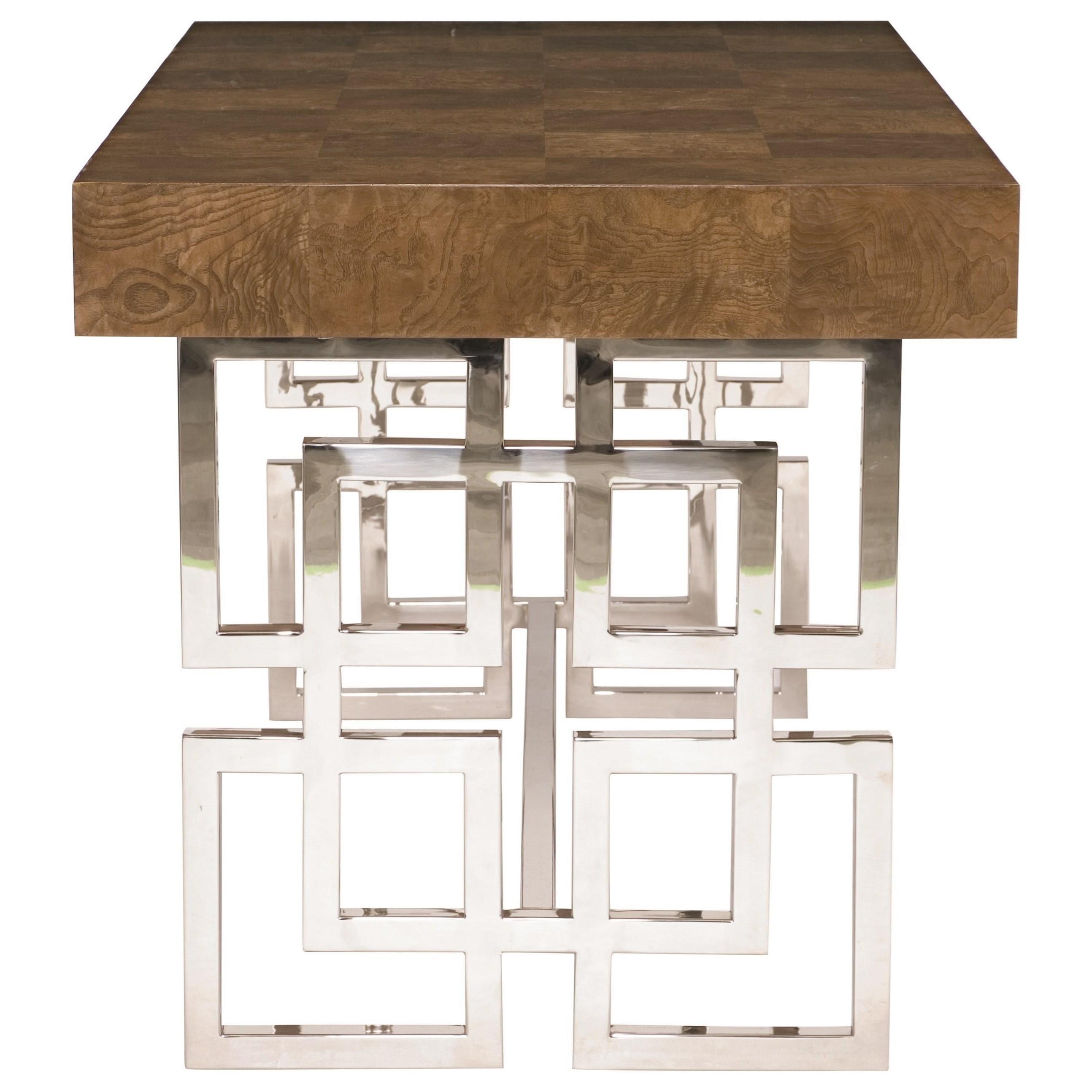Bernhardt Soho Luxe 368 510 Modern 3 Drawer Desk With