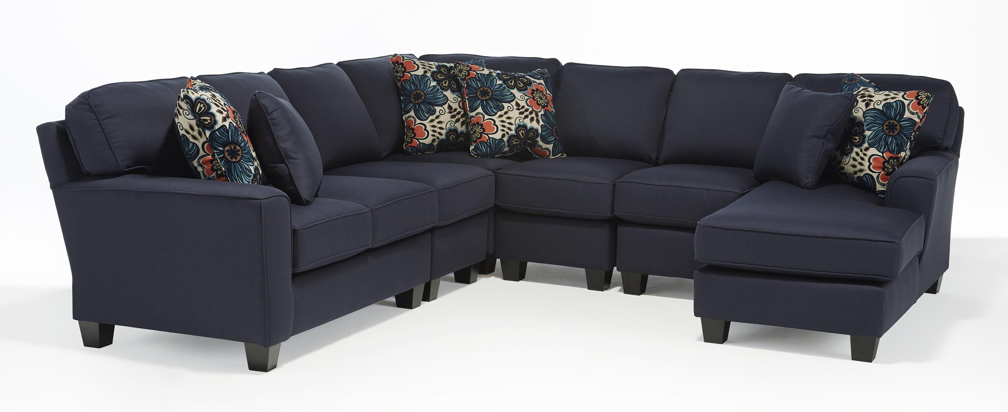 Vendor 411 annabel five piece customizable sectional sofa for 5 pc sectional sofas