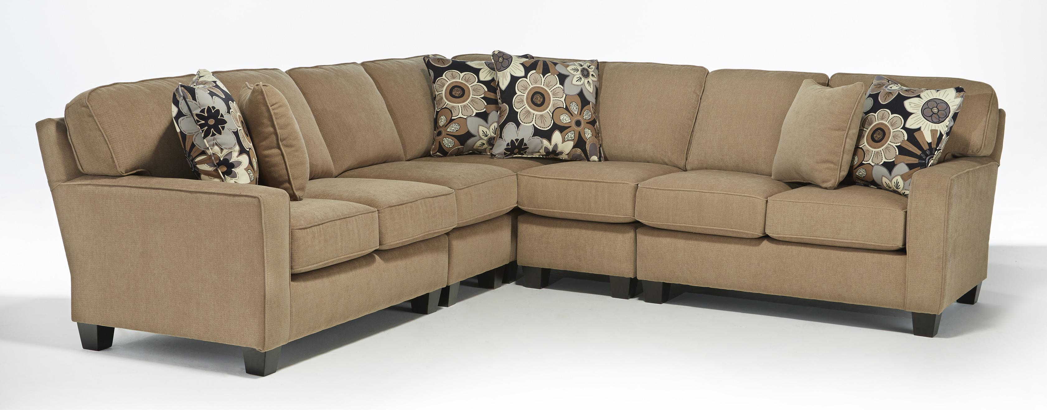 Best home furnishings annabel five piece customizable for 5 pc sectional sofas
