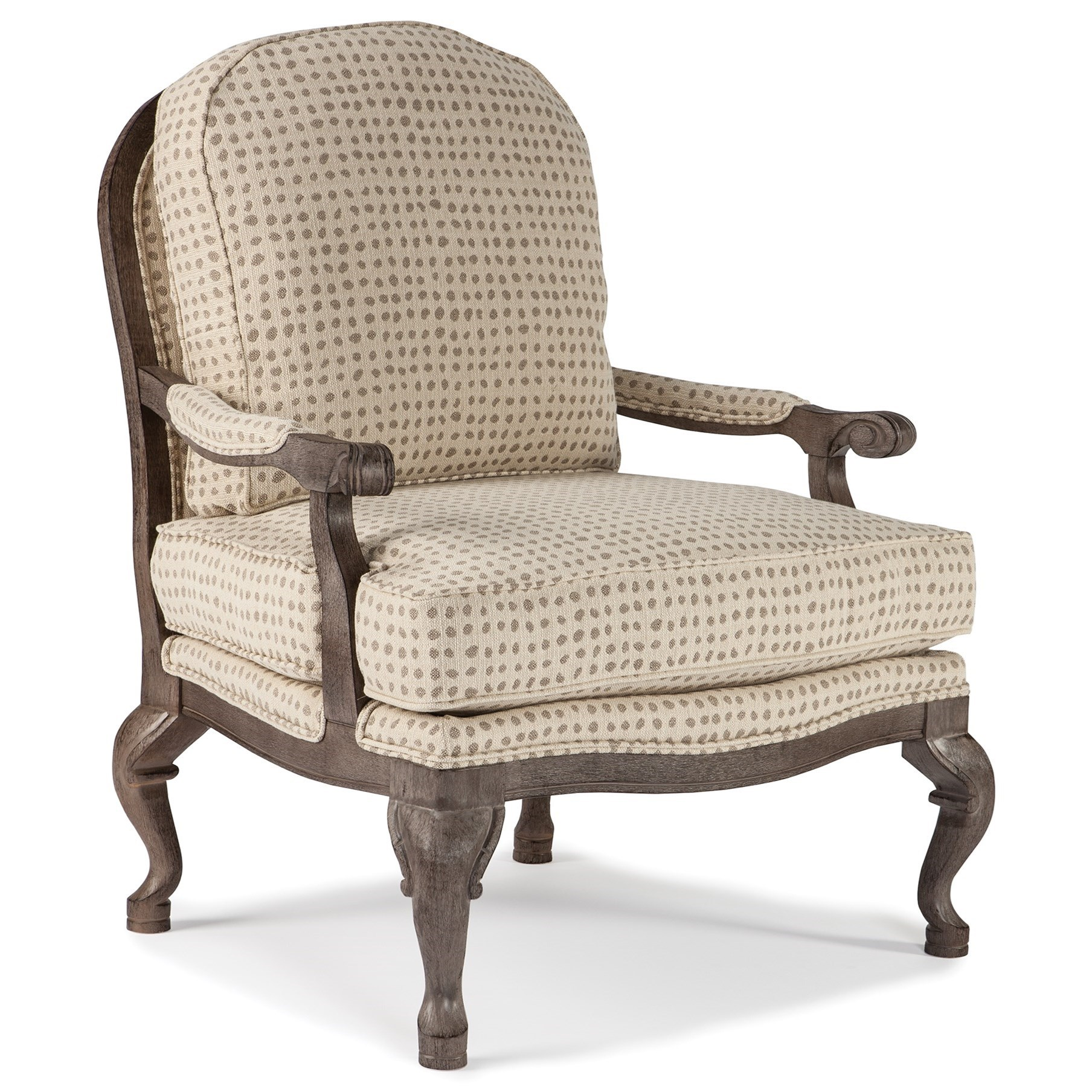 Best home furnishings chairs accent 3410 cogan exposed for Best furniture for home