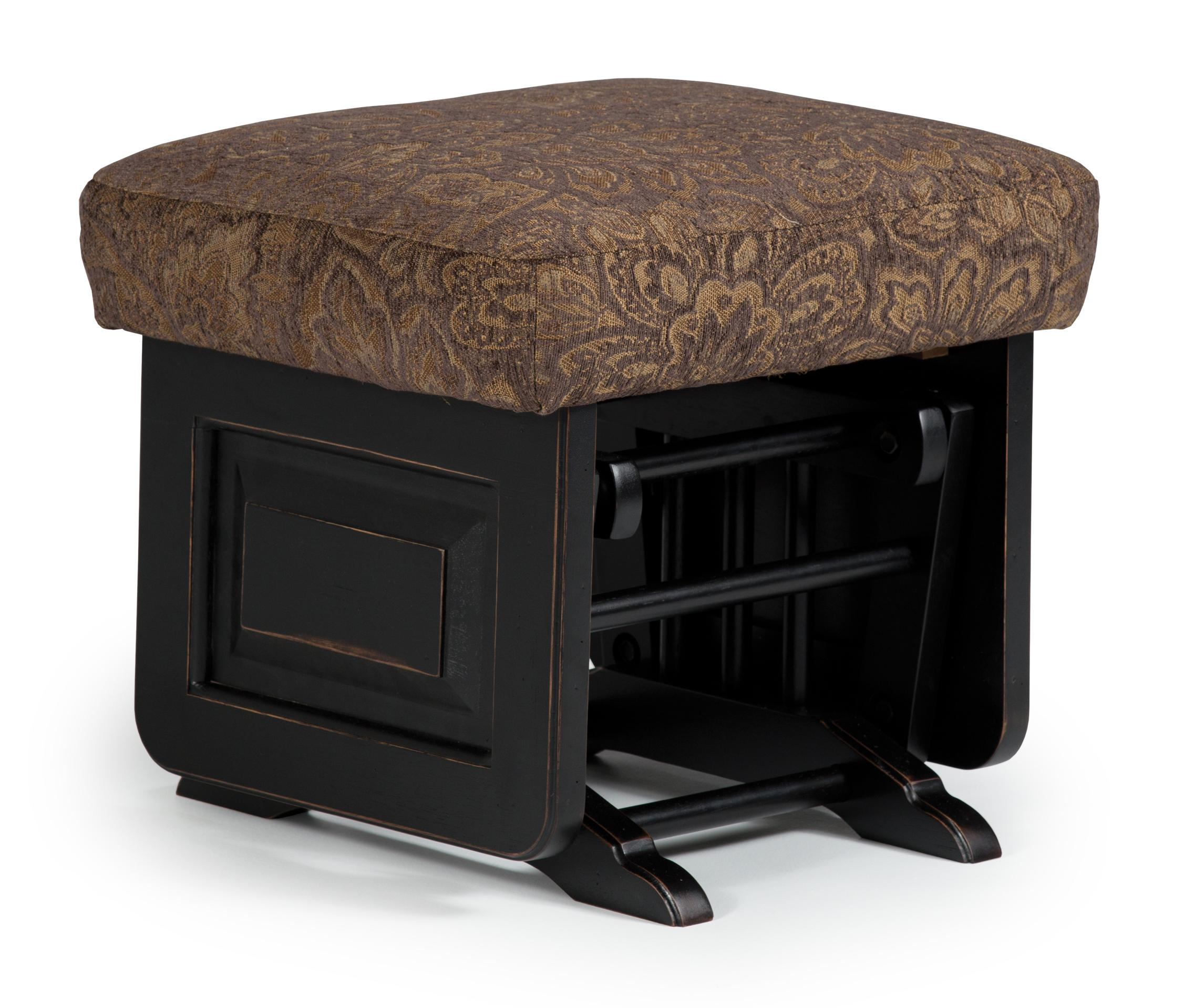 Best home furnishings glider rockers delling ottoman for Best furniture for home