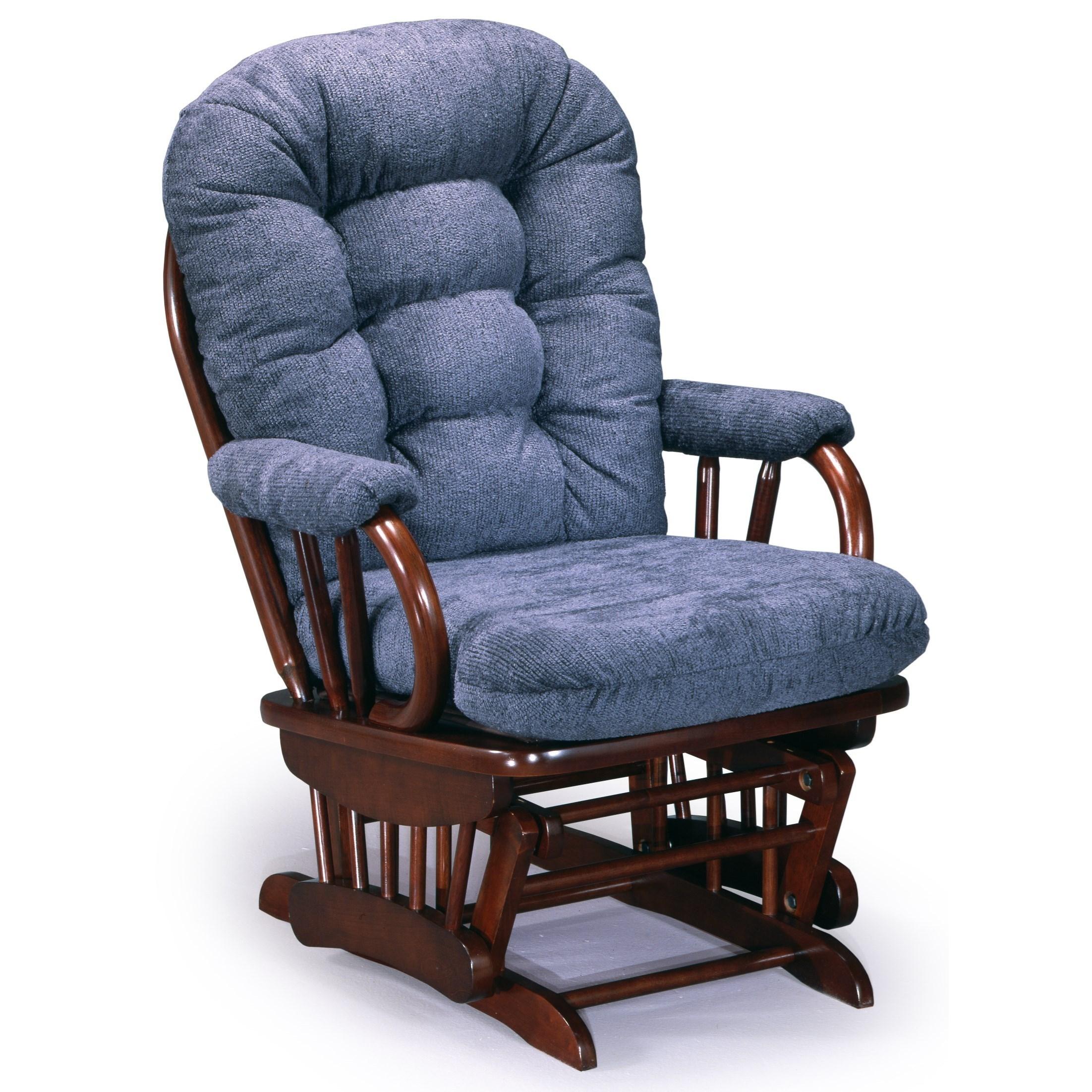 Best home furnishings glider rockers sona glider rocker for Furniture gliders