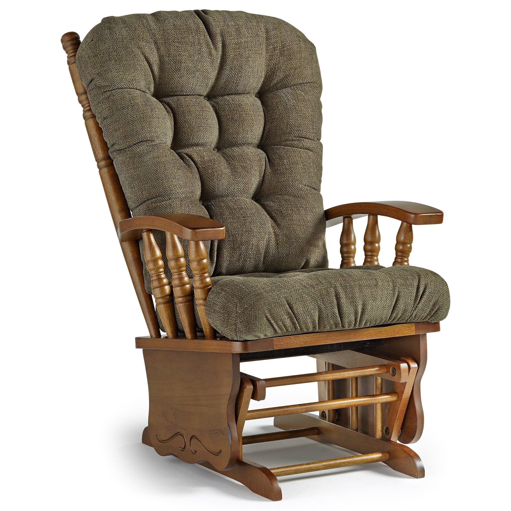 Best Home Furnishings Glider Rockers Henley Glider Rocker Rife 39 S Home Furniture Glider Rockers