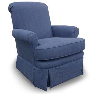 Best Home Furnishings Chairs Swivel Glide Kaylee Swivel