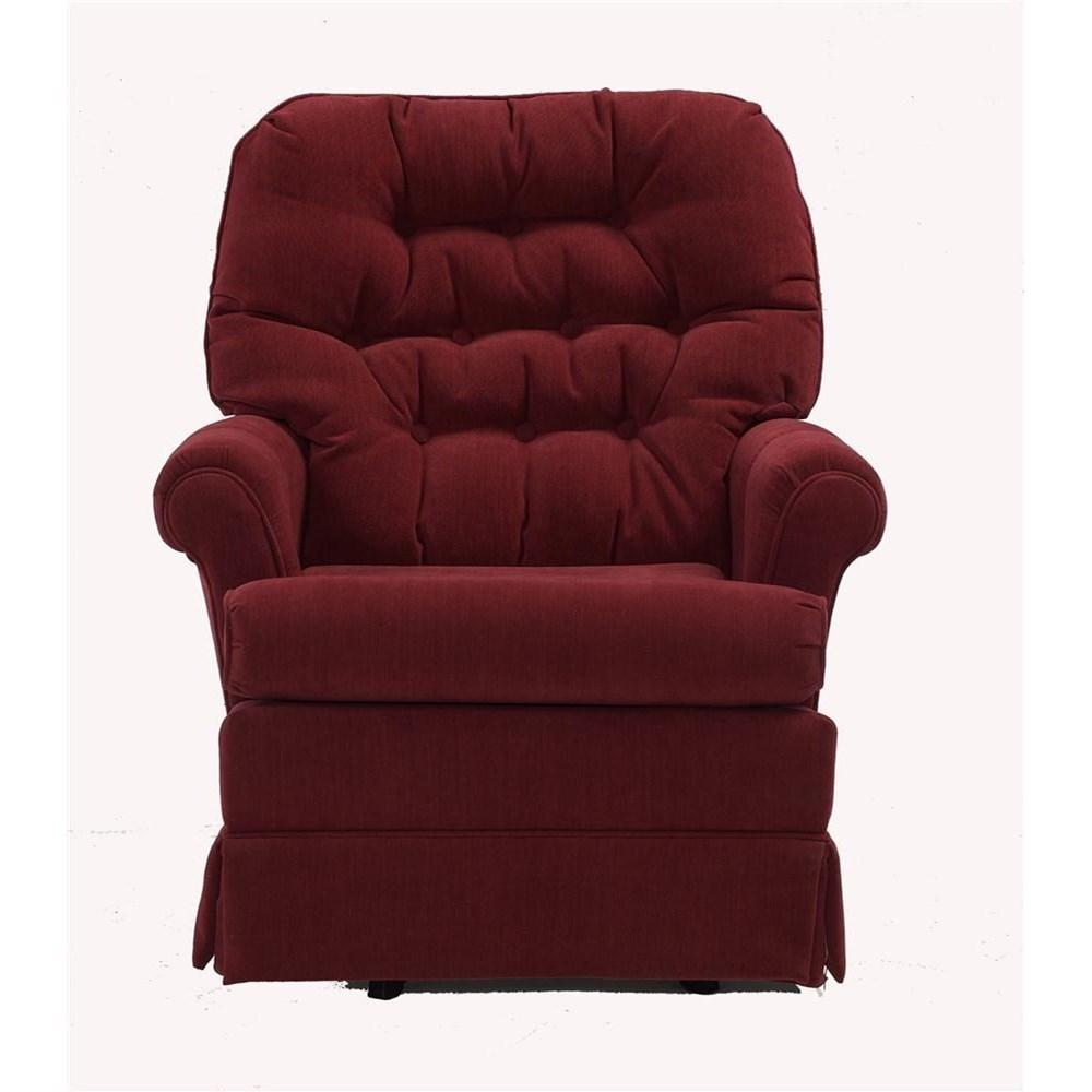 Best Home Furnishings Chairs Swivel Glide Marla Swivel Rocker Chair Knight Furniture