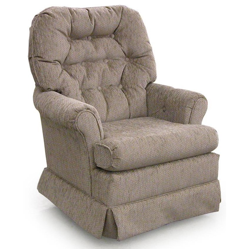 Best Home Furnishings Chairs Swivel Glide 1559 Marla Swivel Rocker Chair Baer 39 S Furniture