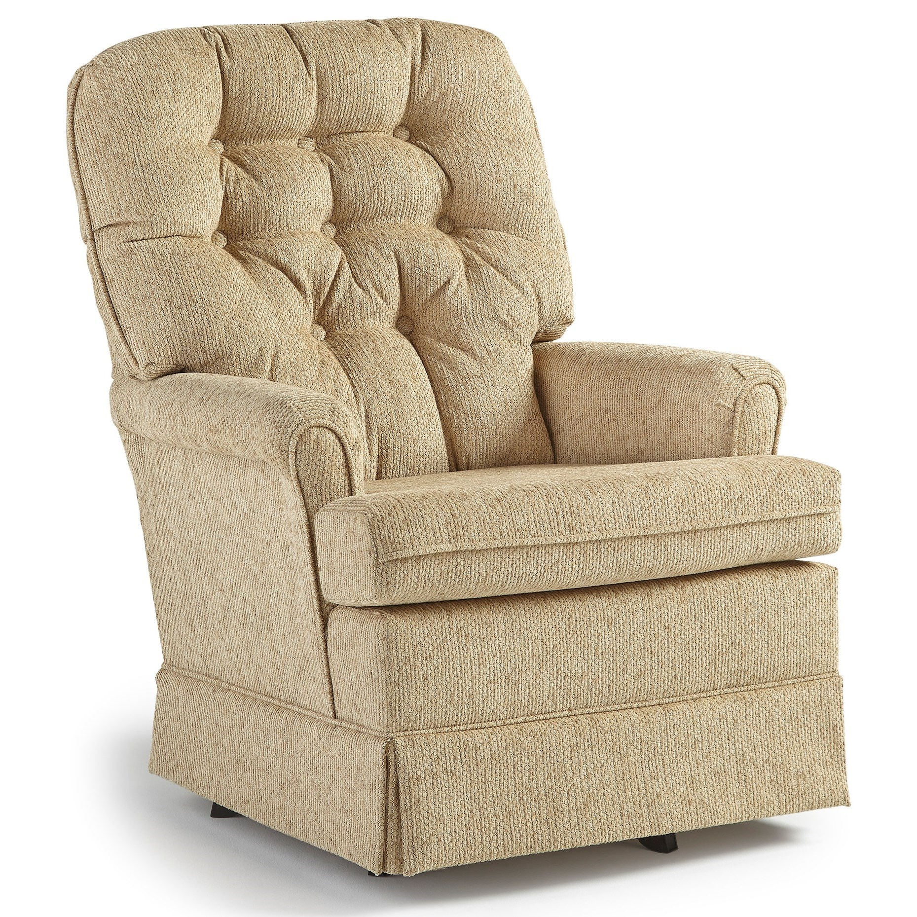 Best Home Furnishings Chairs Swivel Glide Joplin Swivel Rocker Chair Knight Furniture