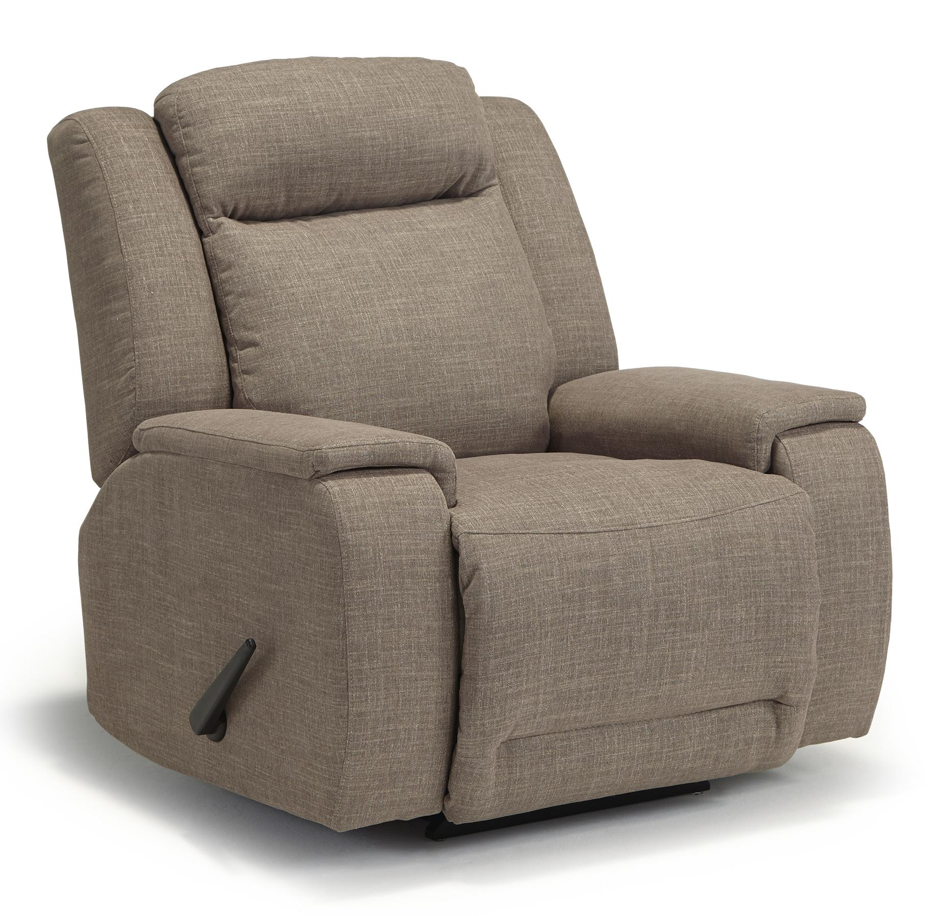 Best home furnishings hardisty casual swivel rocker for Wayside furniture