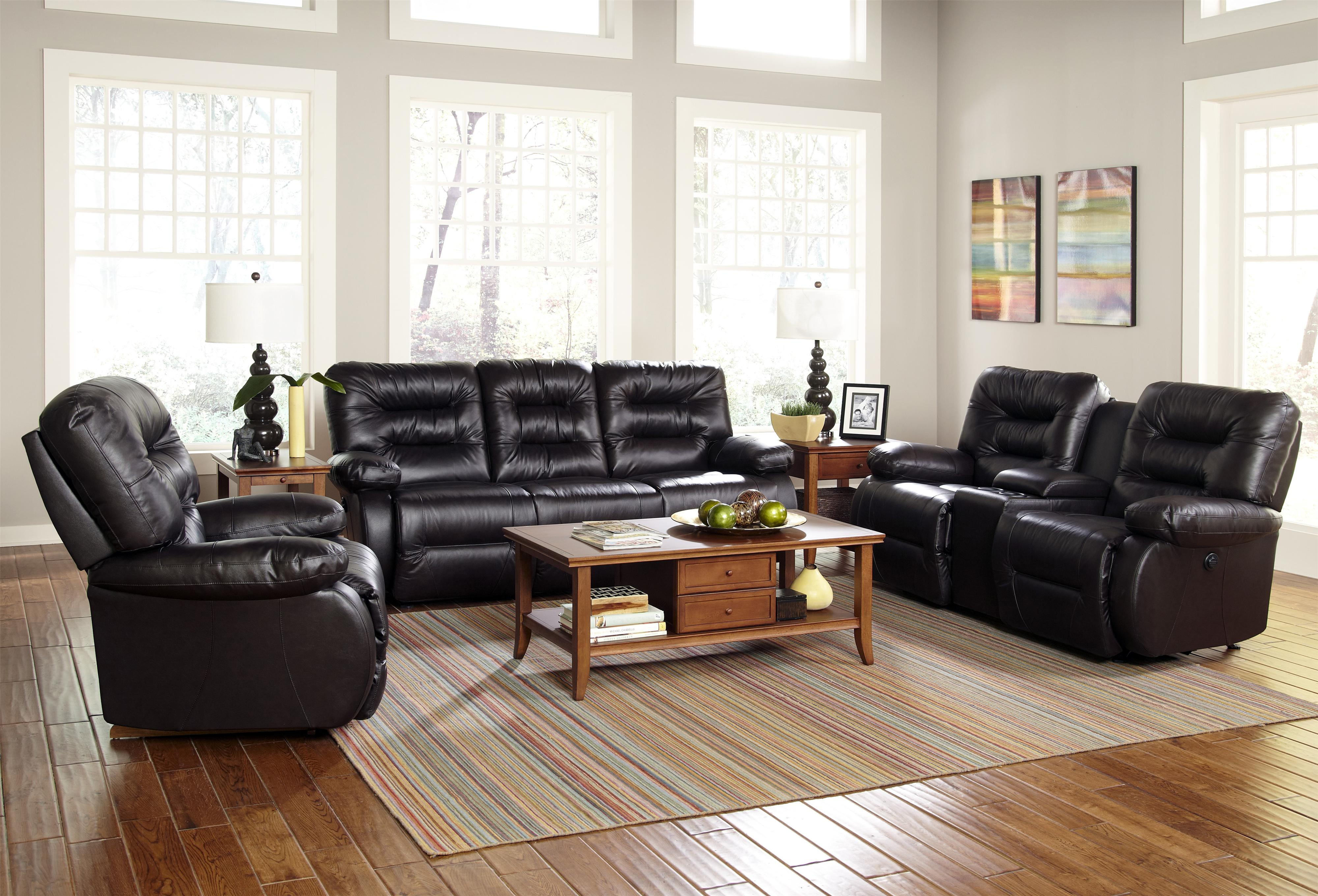 best home furnishings maddox power space saver console loveseat with