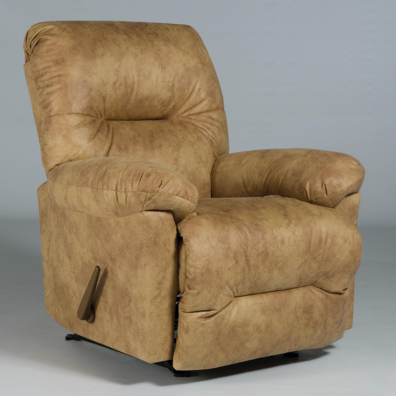 best home furnishings recliners medium rodney swivel rocker recliner