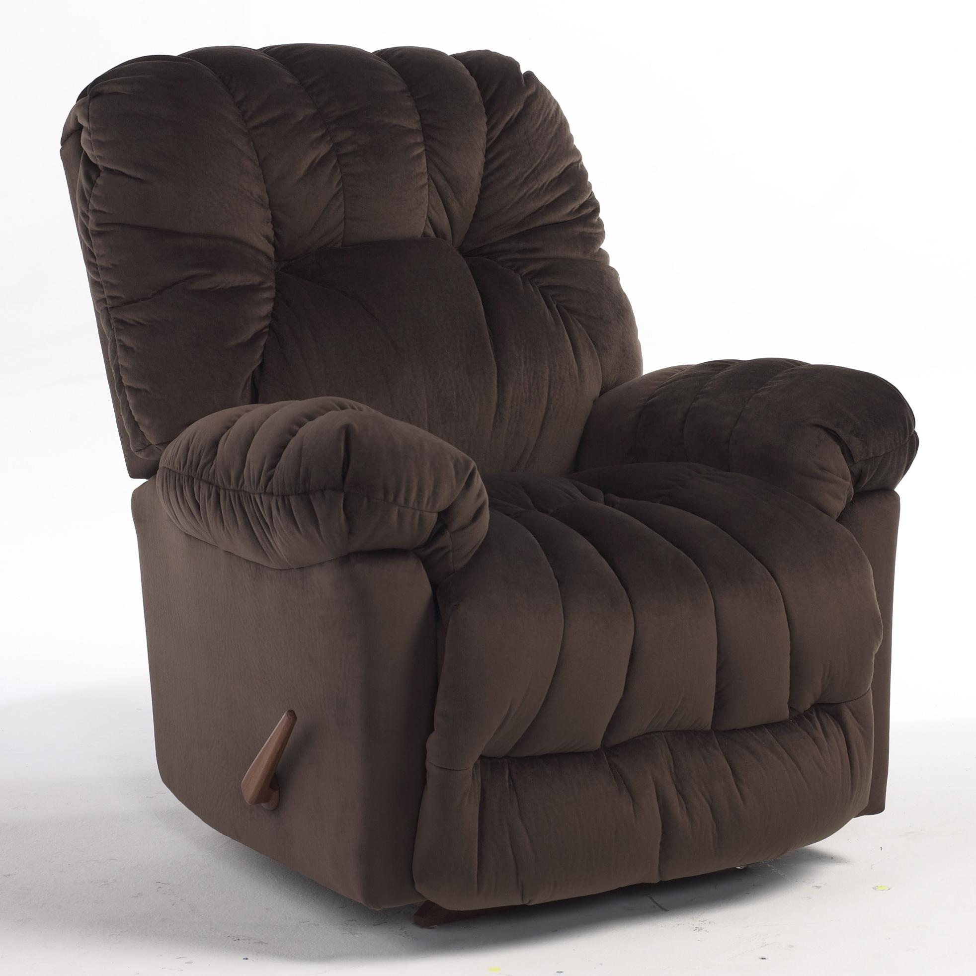 Recliners Medium Conen Swivel Rocking Reclining Chair By