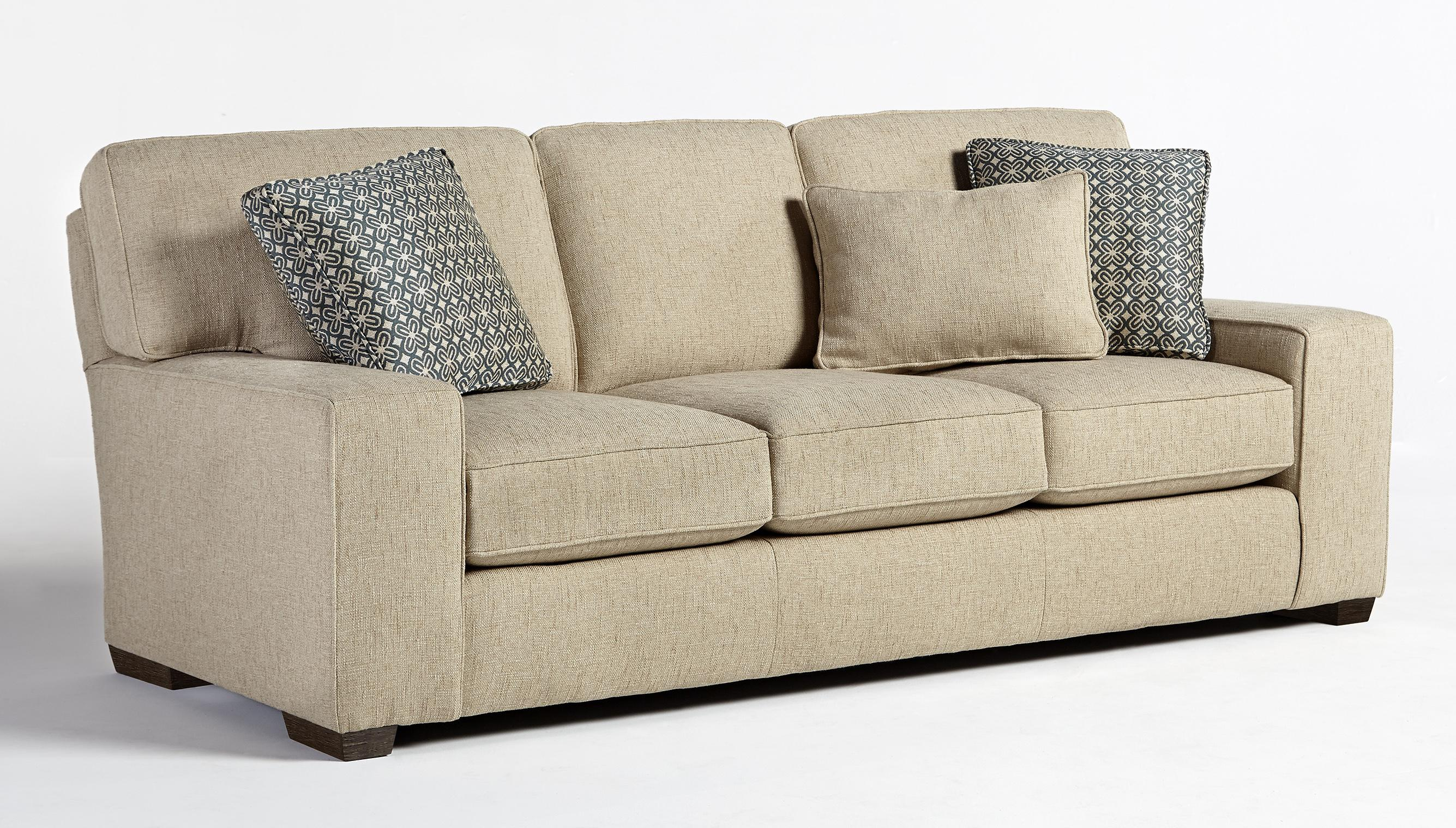 Best home furnishings millport s47 casual sofa with welt for Sofawelt outlet