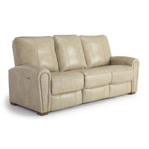 best home furnishings miriam casual power space saver recliner at