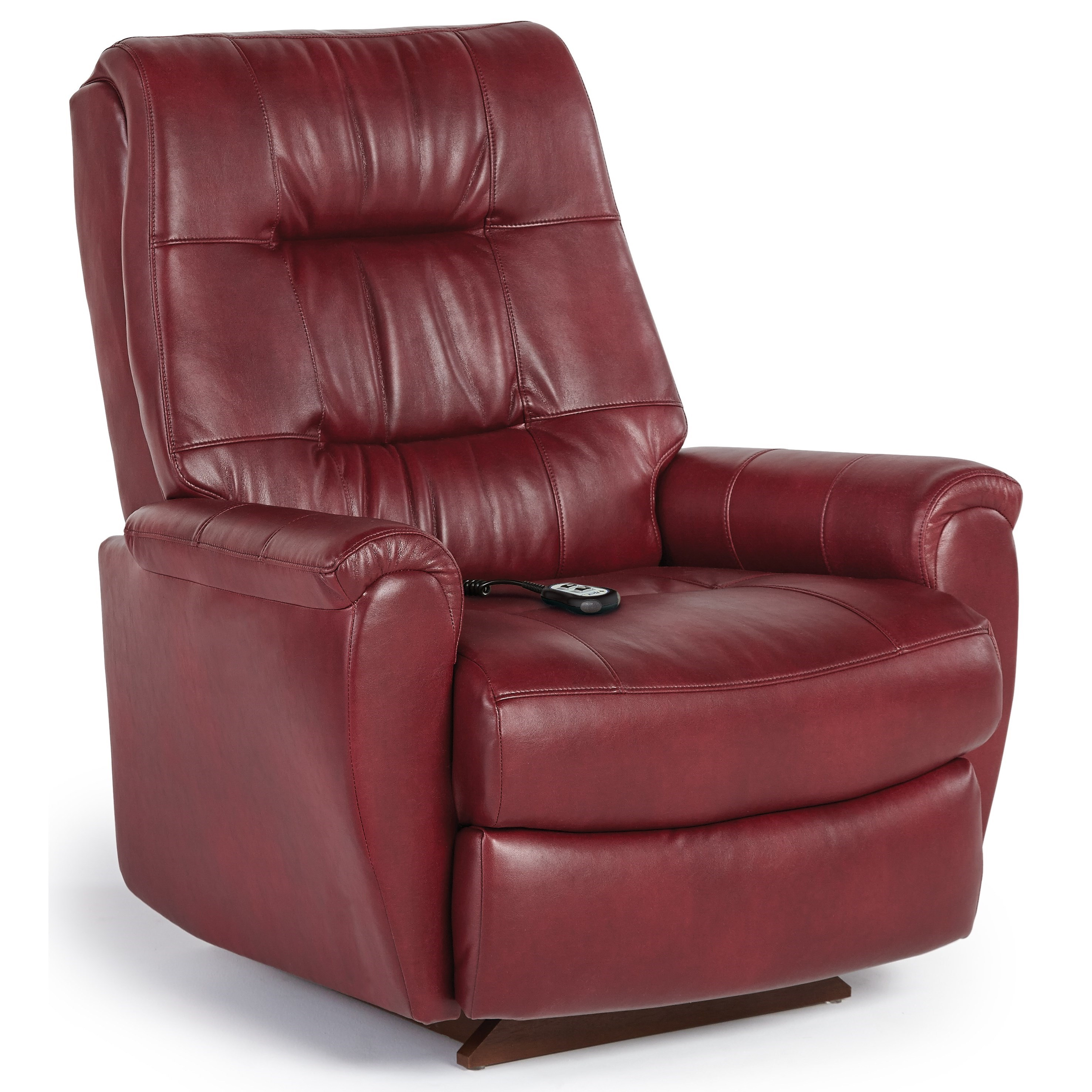 Best home furnishings recliners petite felicia power for Recliner chair